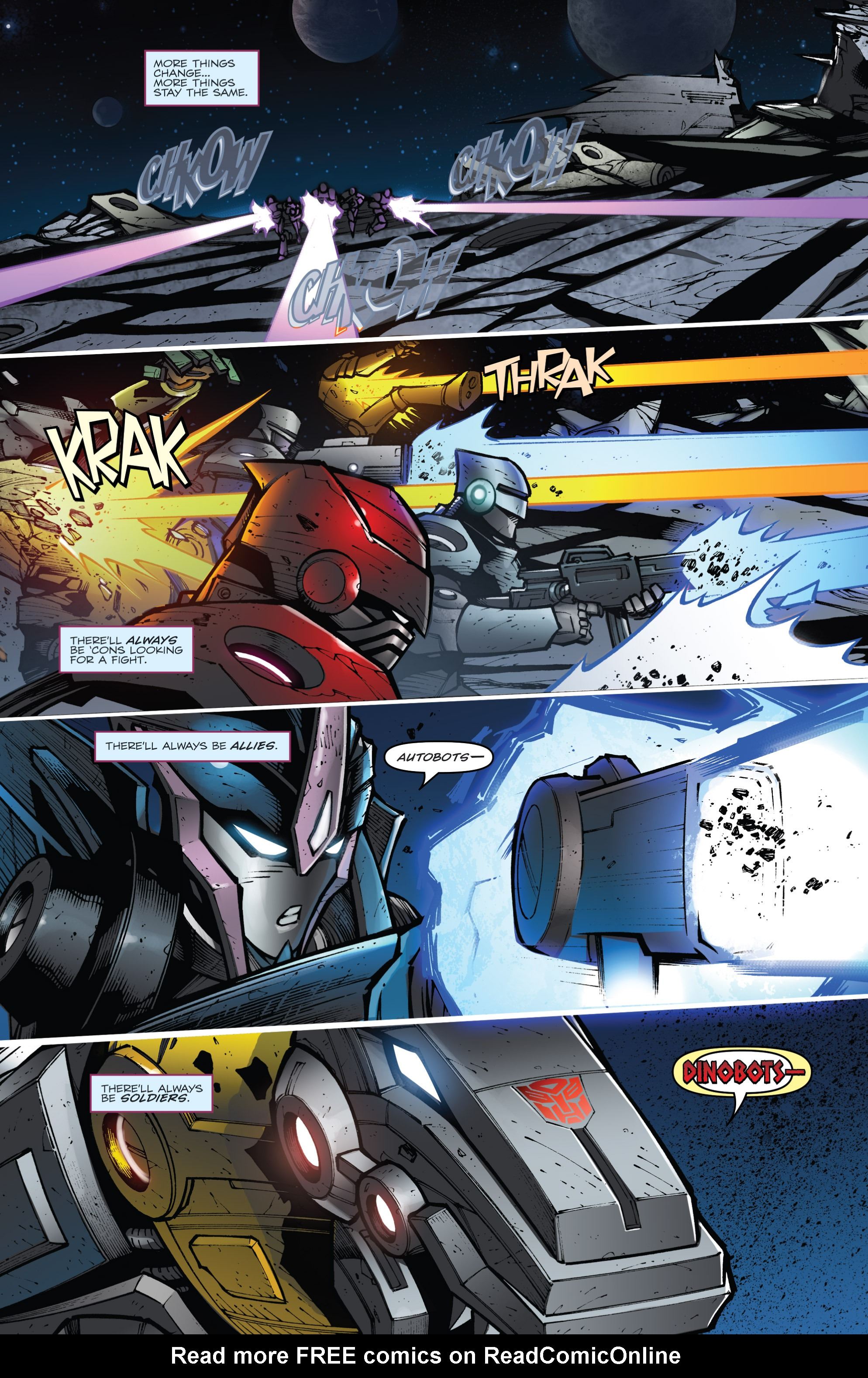 Read online Transformers Prime: Beast Hunters comic -  Issue #8 - 3