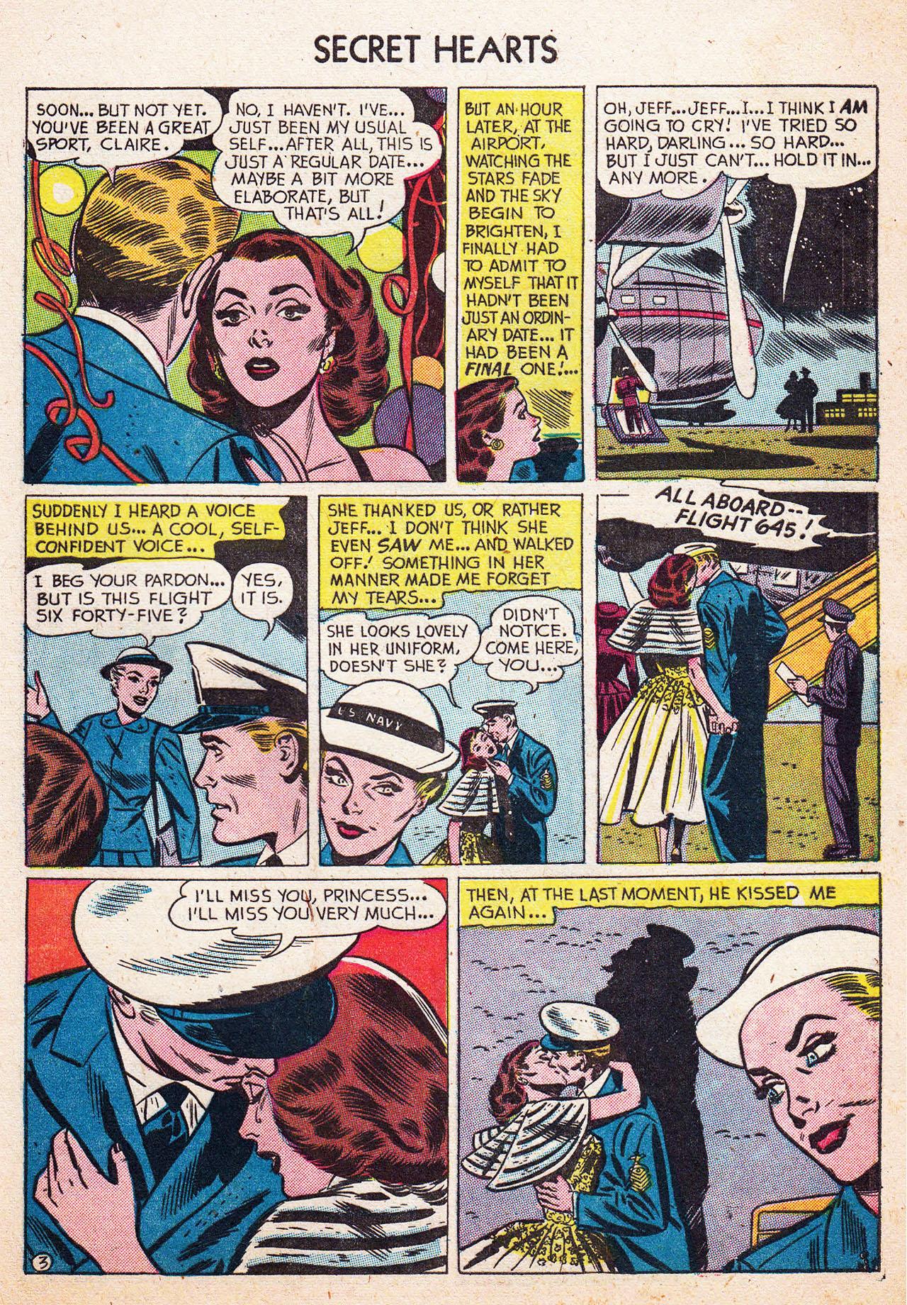 Read online Secret Hearts comic -  Issue #13 - 29
