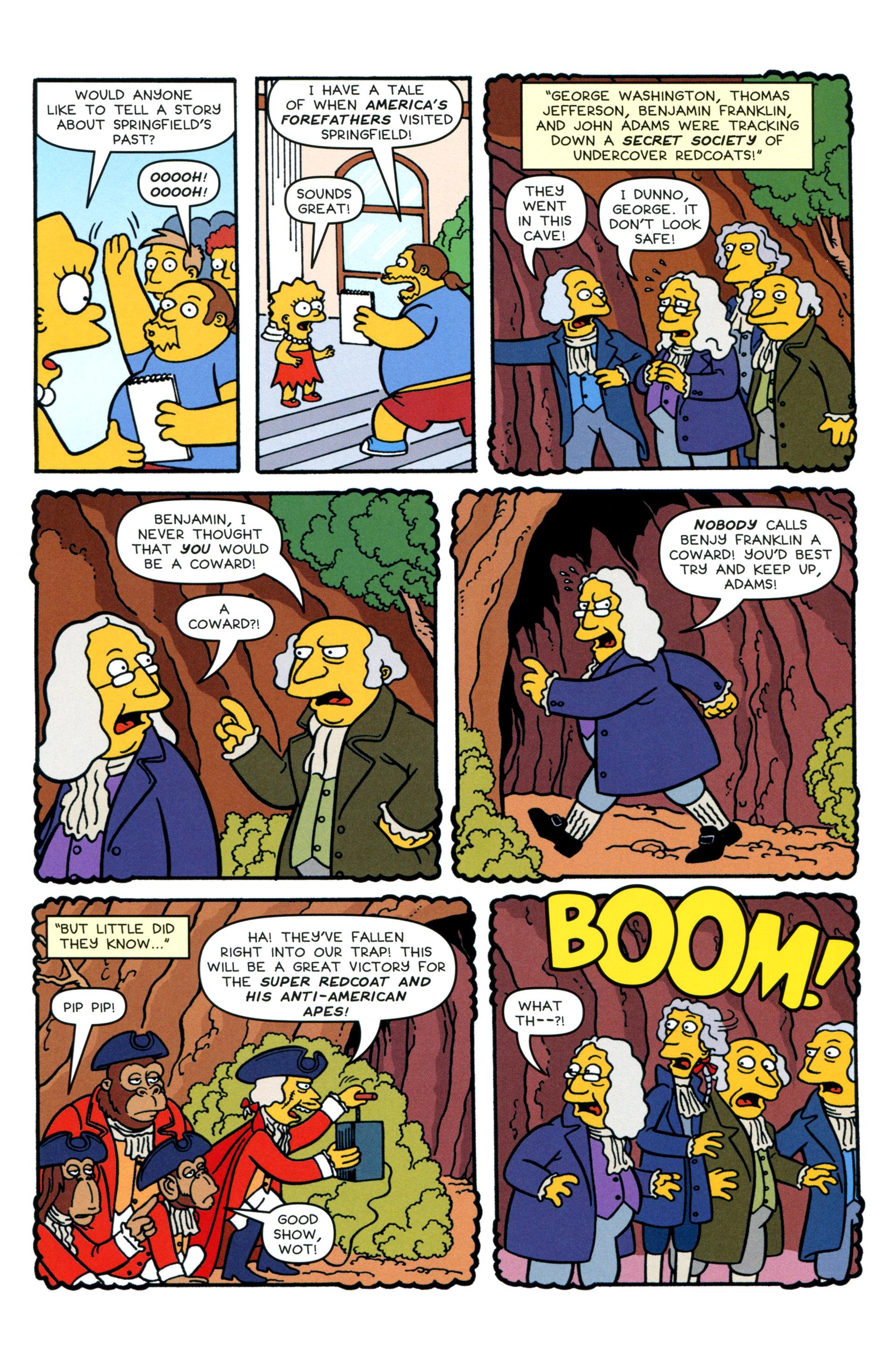 Read online Simpsons Comics comic -  Issue #200 - 11