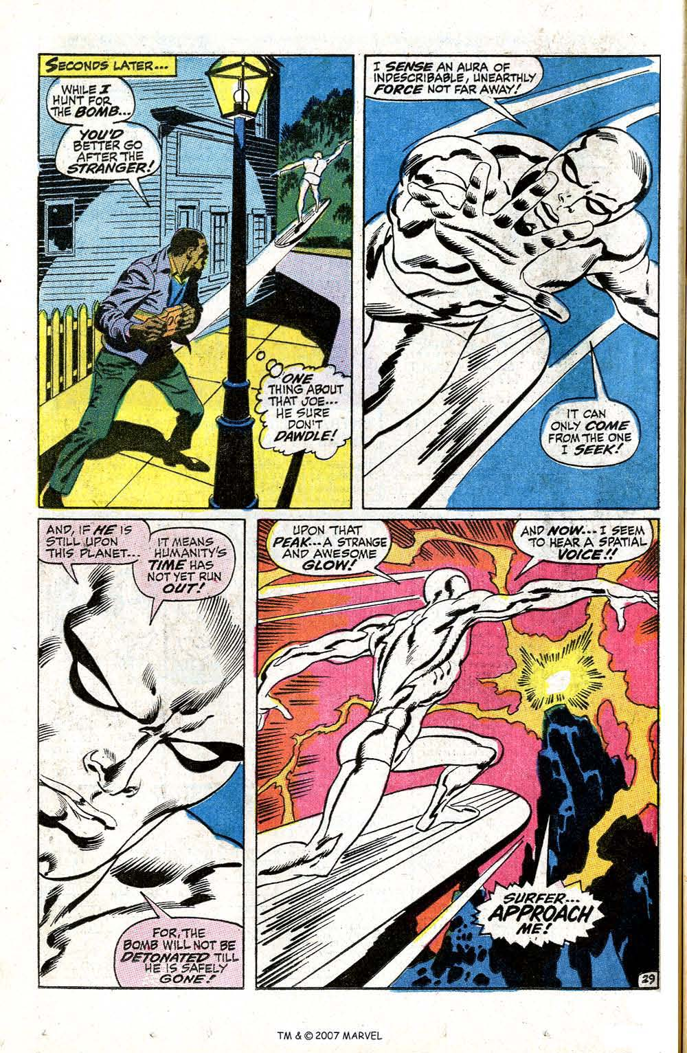 Read online Silver Surfer (1968) comic -  Issue #5 - 36