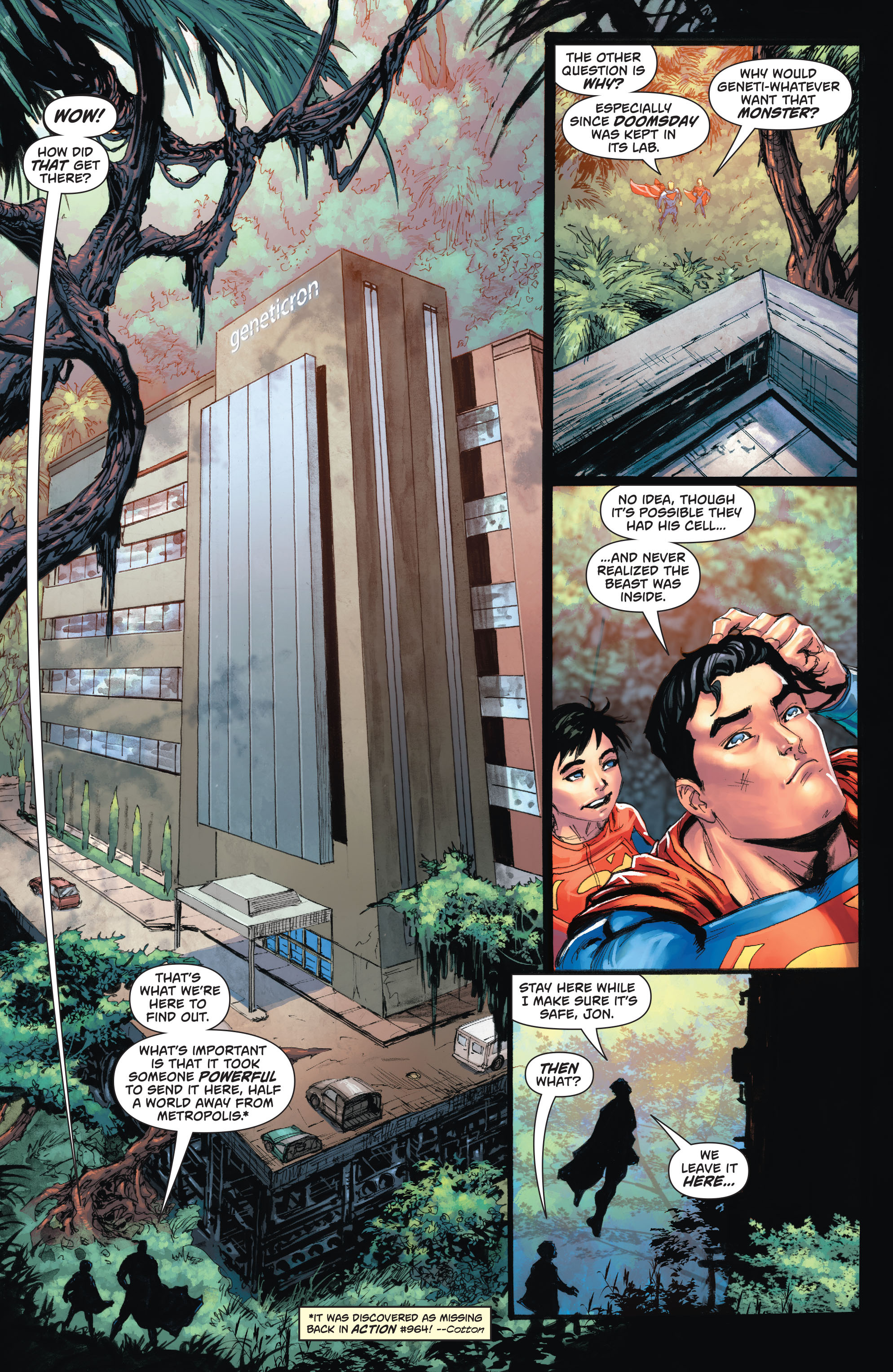 Read online Action Comics (2016) comic -  Issue #967 - 10