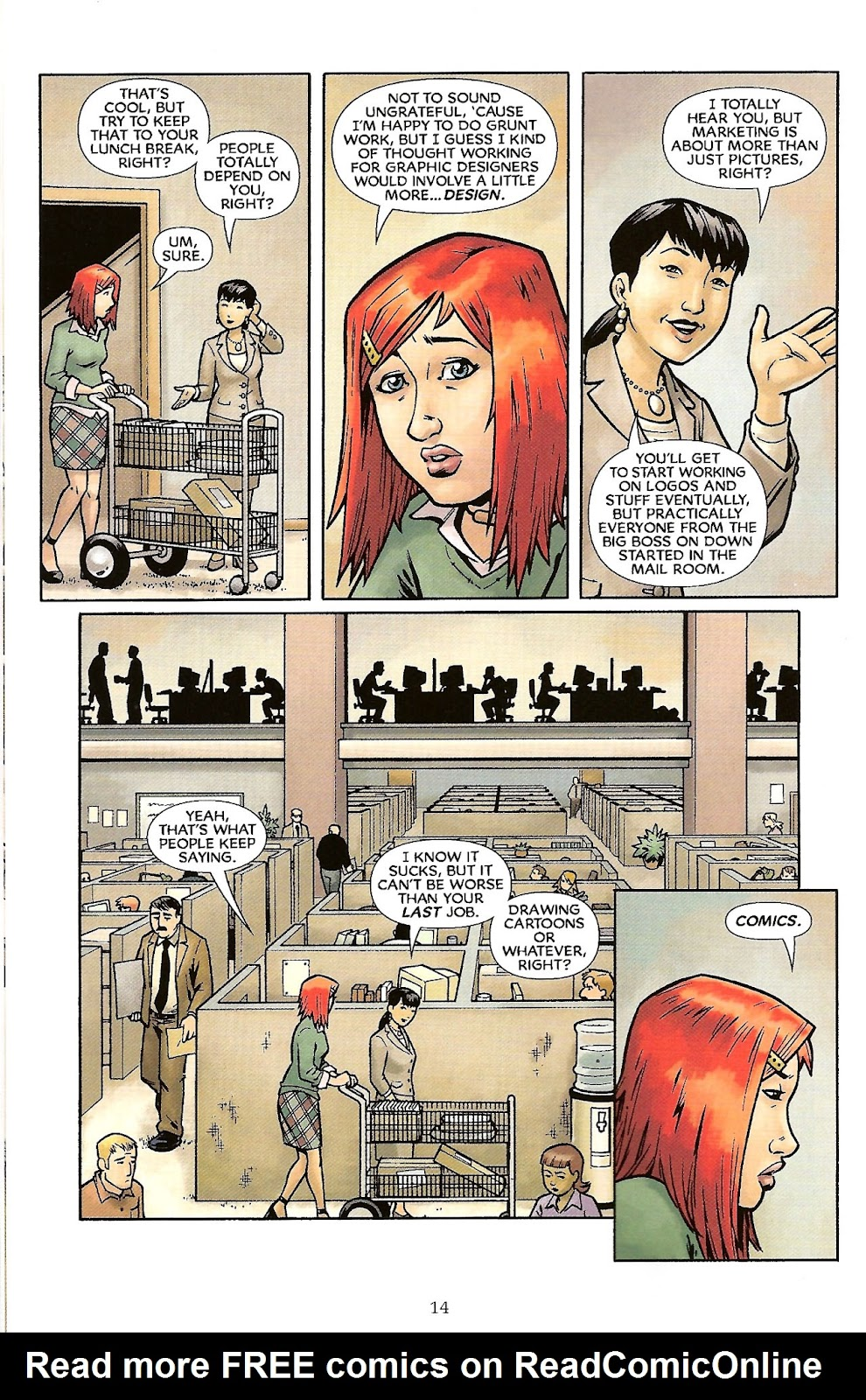 Read online The Escapists comic -  Issue #6 - 16