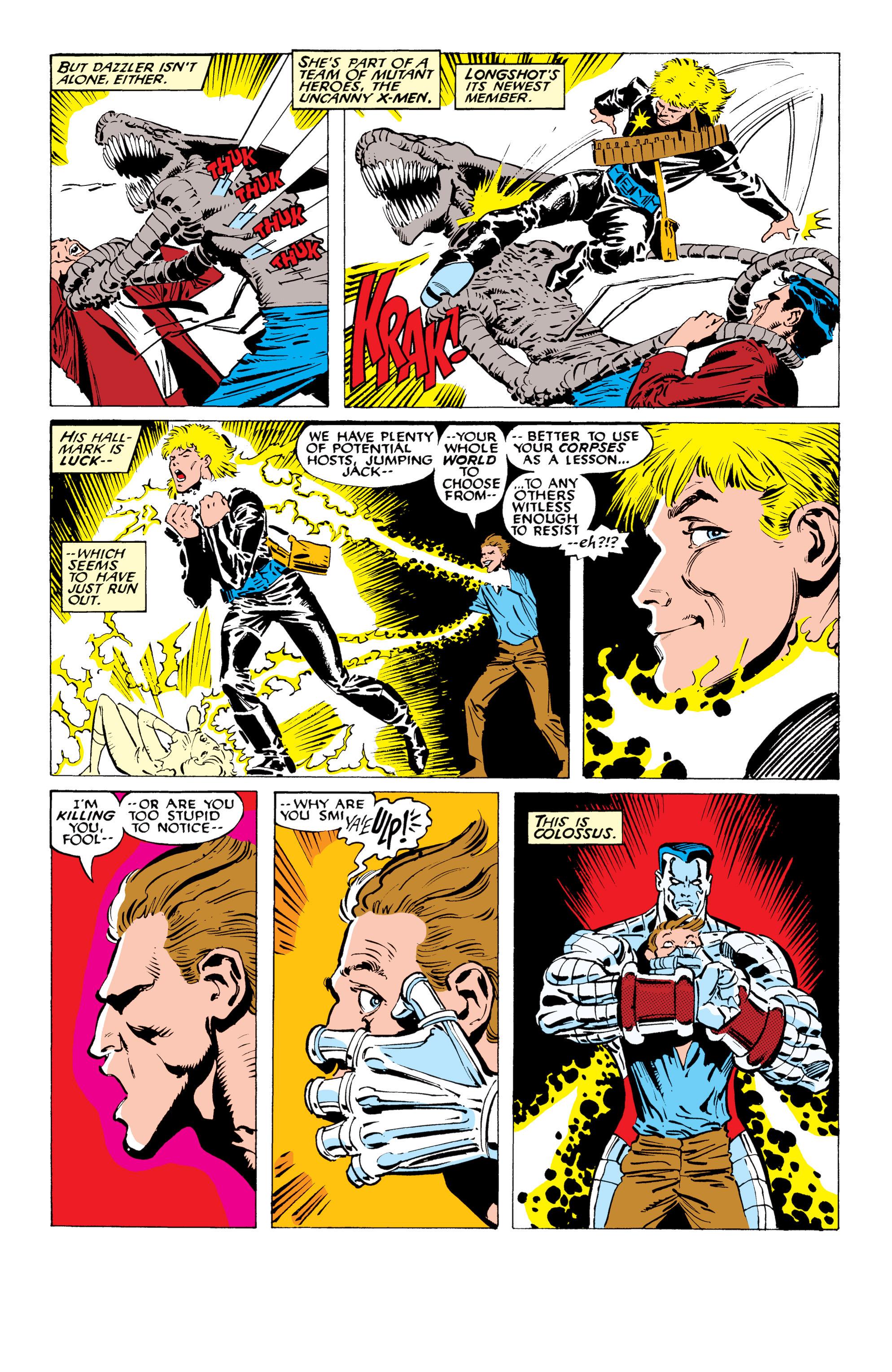 Read online Uncanny X-Men (1963) comic -  Issue #234 - 6