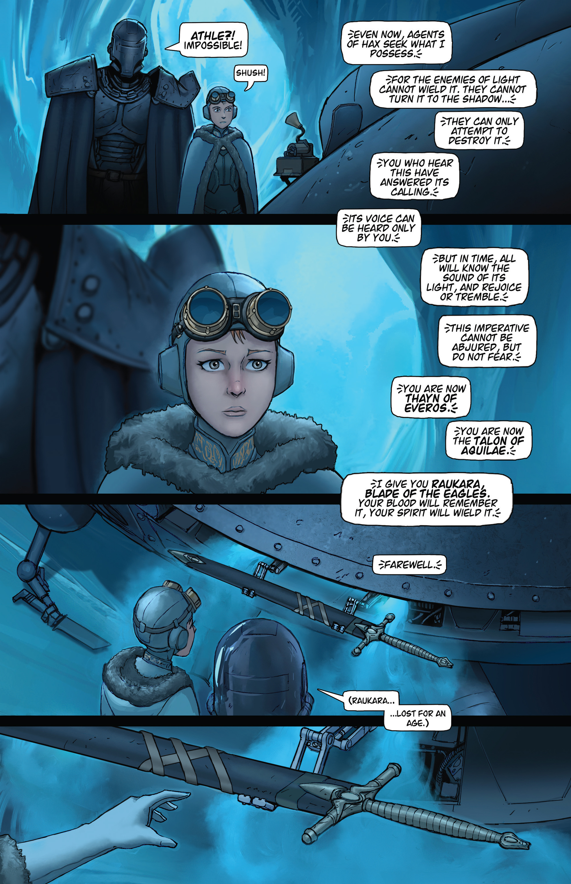 Read online Steam Wars: First Empire comic -  Issue #4 - 16