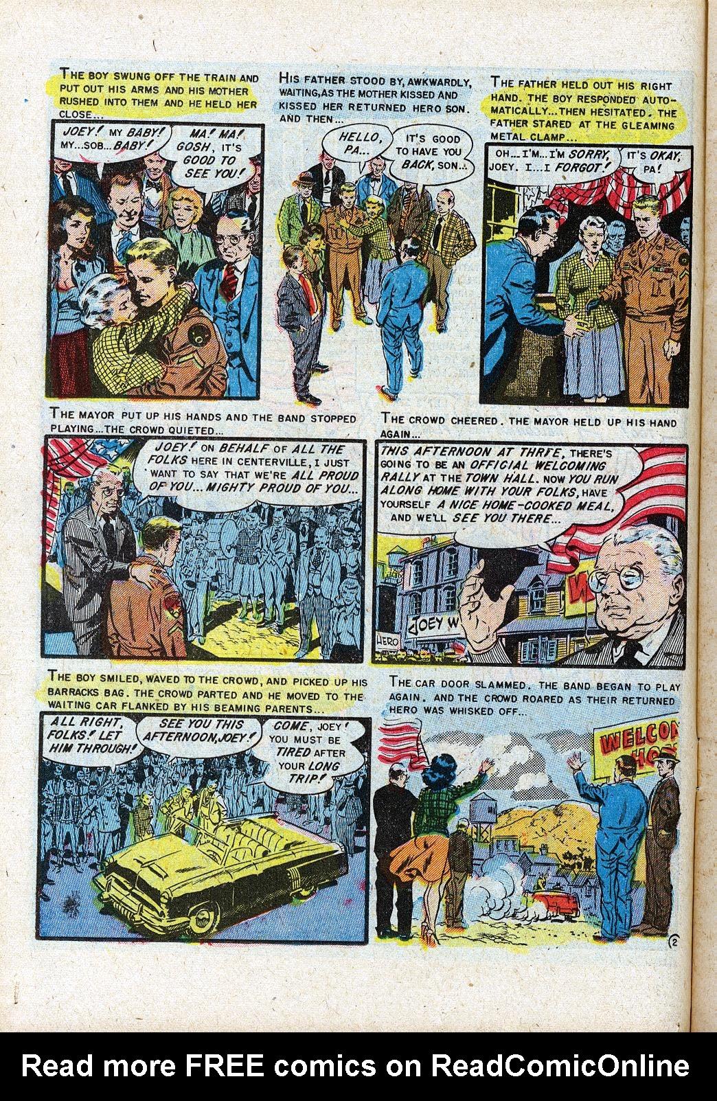 Read online Shock SuspenStories comic -  Issue #11 - 12