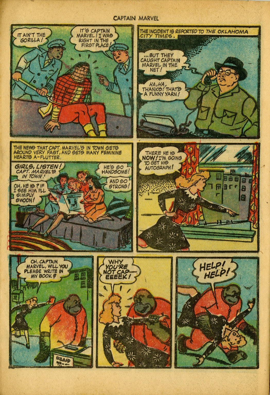 Captain Marvel Adventures issue 34 - Page 12