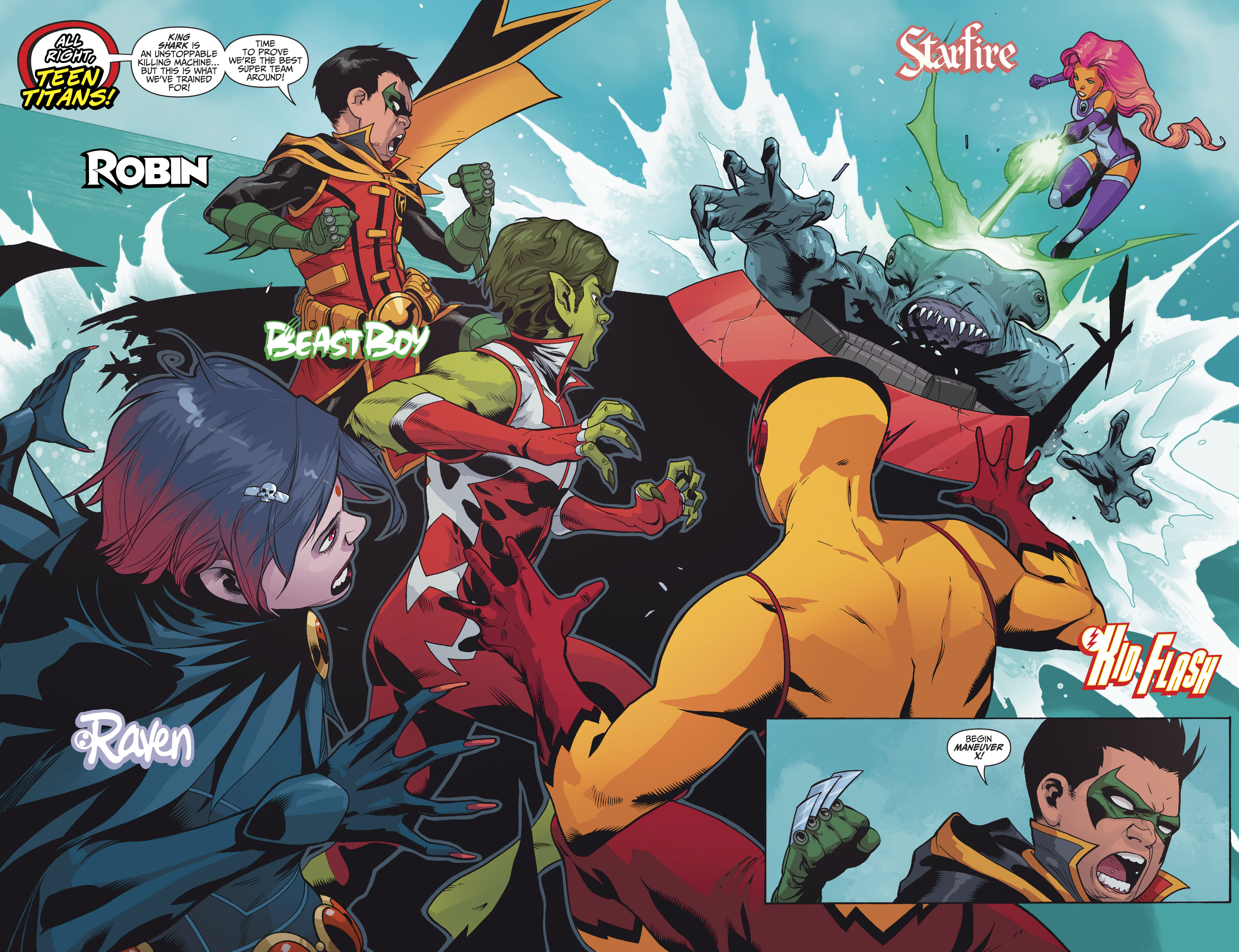 Read online Teen Titans (2016) comic -  Issue #7 - 5