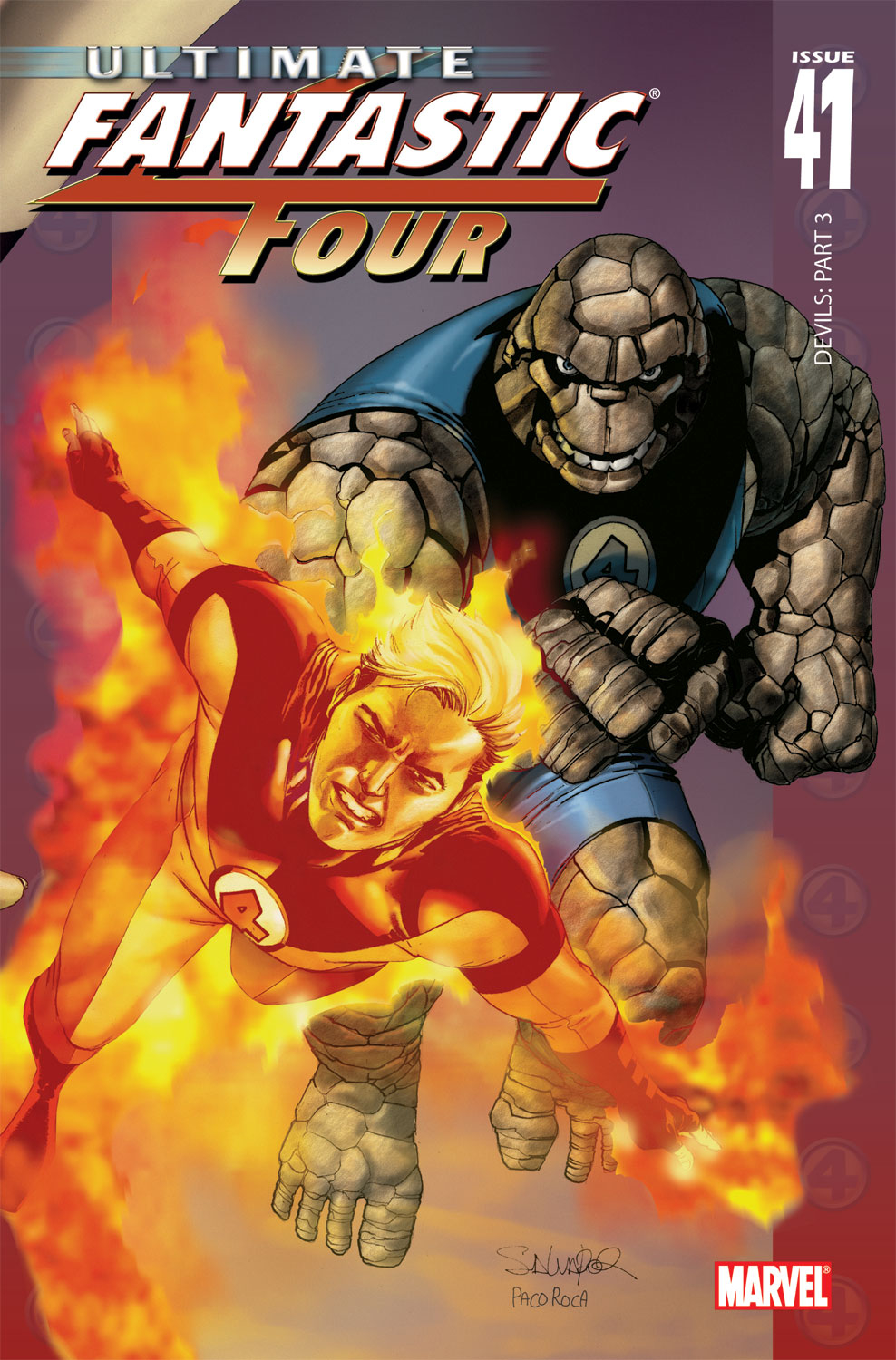 Read online Ultimate Fantastic Four (2004) comic -  Issue #41 - 1