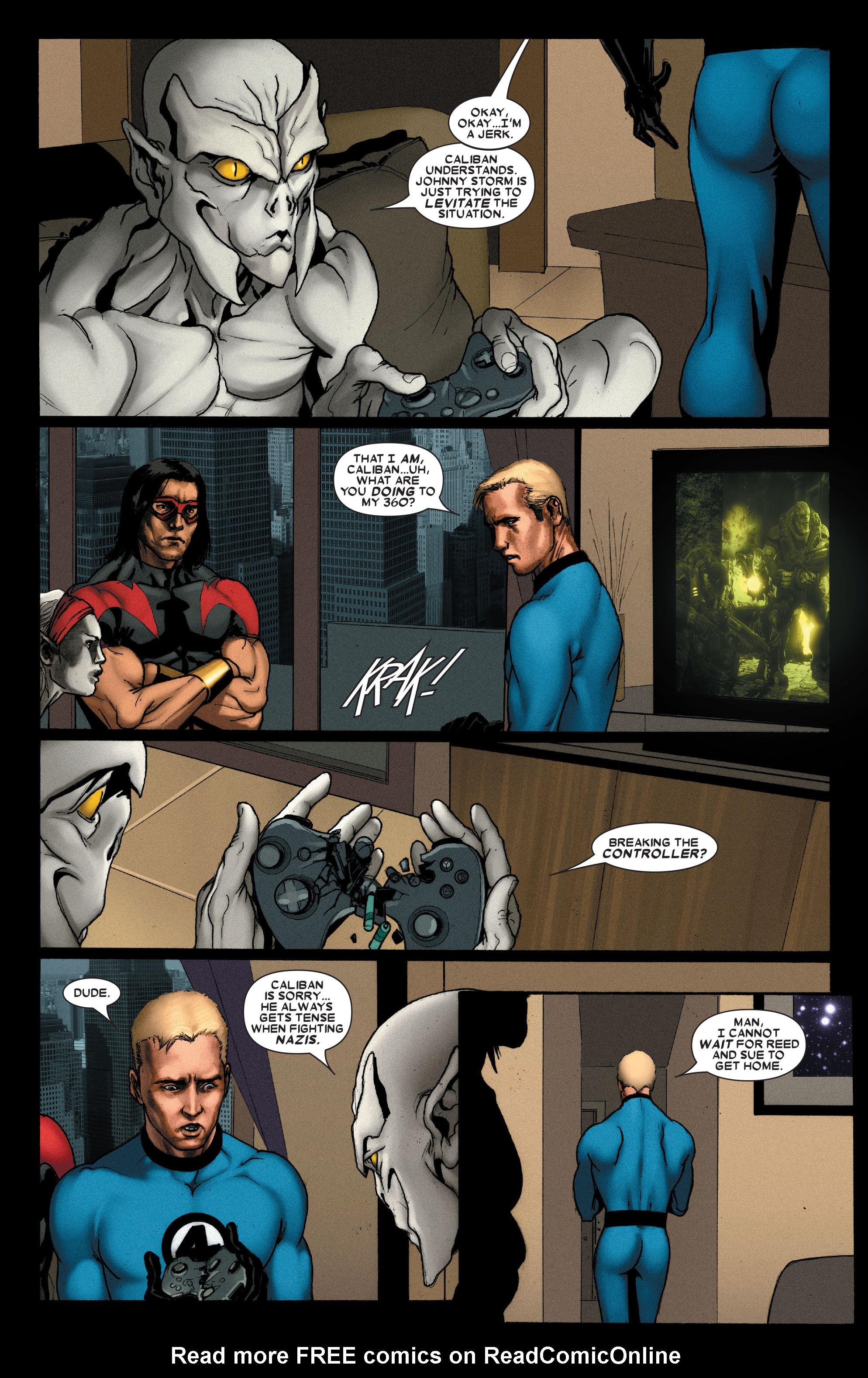 Read online Uncanny X-Men (1963) comic -  Issue #489 - 8