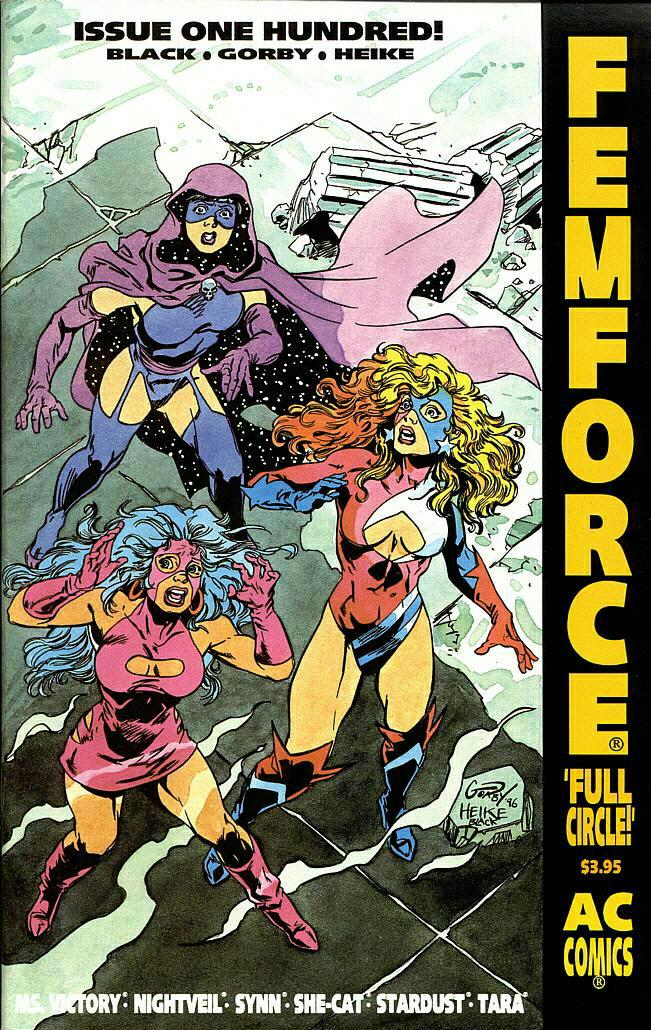 Femforce Issue #100 #100 - English 1
