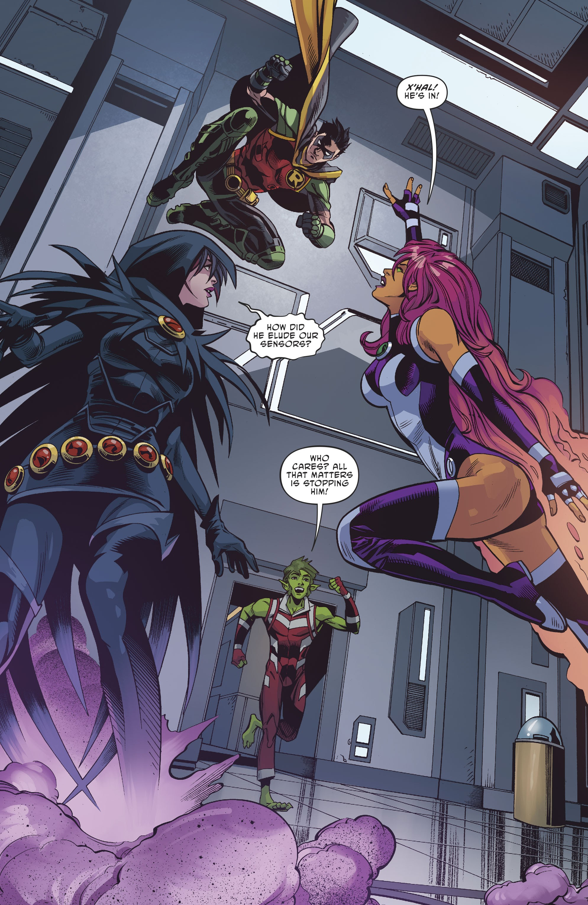 Titans: Burning Rage #1 #1 - English 16