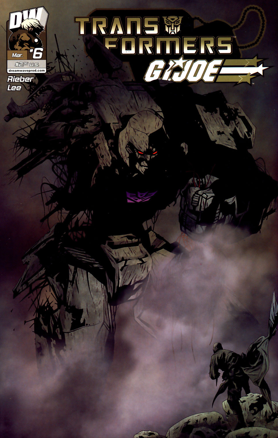 Read online Transformers/G.I. Joe comic -  Issue #6 - 1