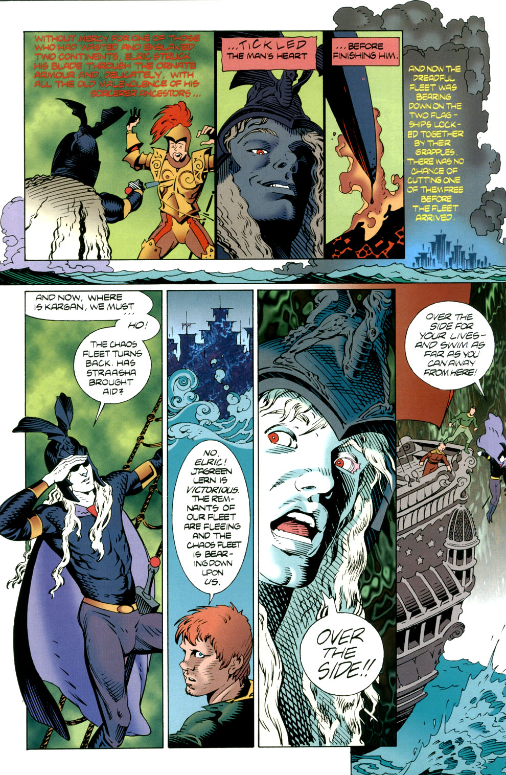 Read online Elric: Stormbringer comic -  Issue #5 - 5