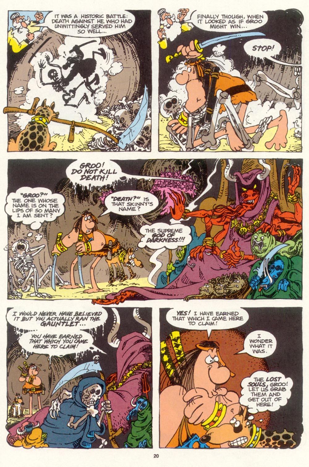 Read online Sergio Aragonés Groo the Wanderer comic -  Issue #99 - 21