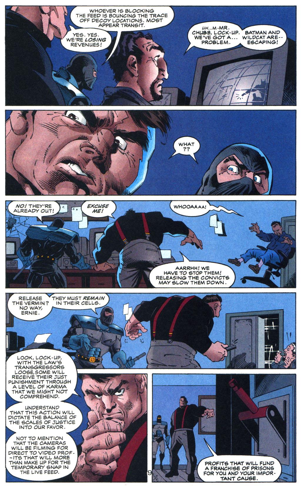 Read online Batman/Wildcat comic -  Issue #3 - 9