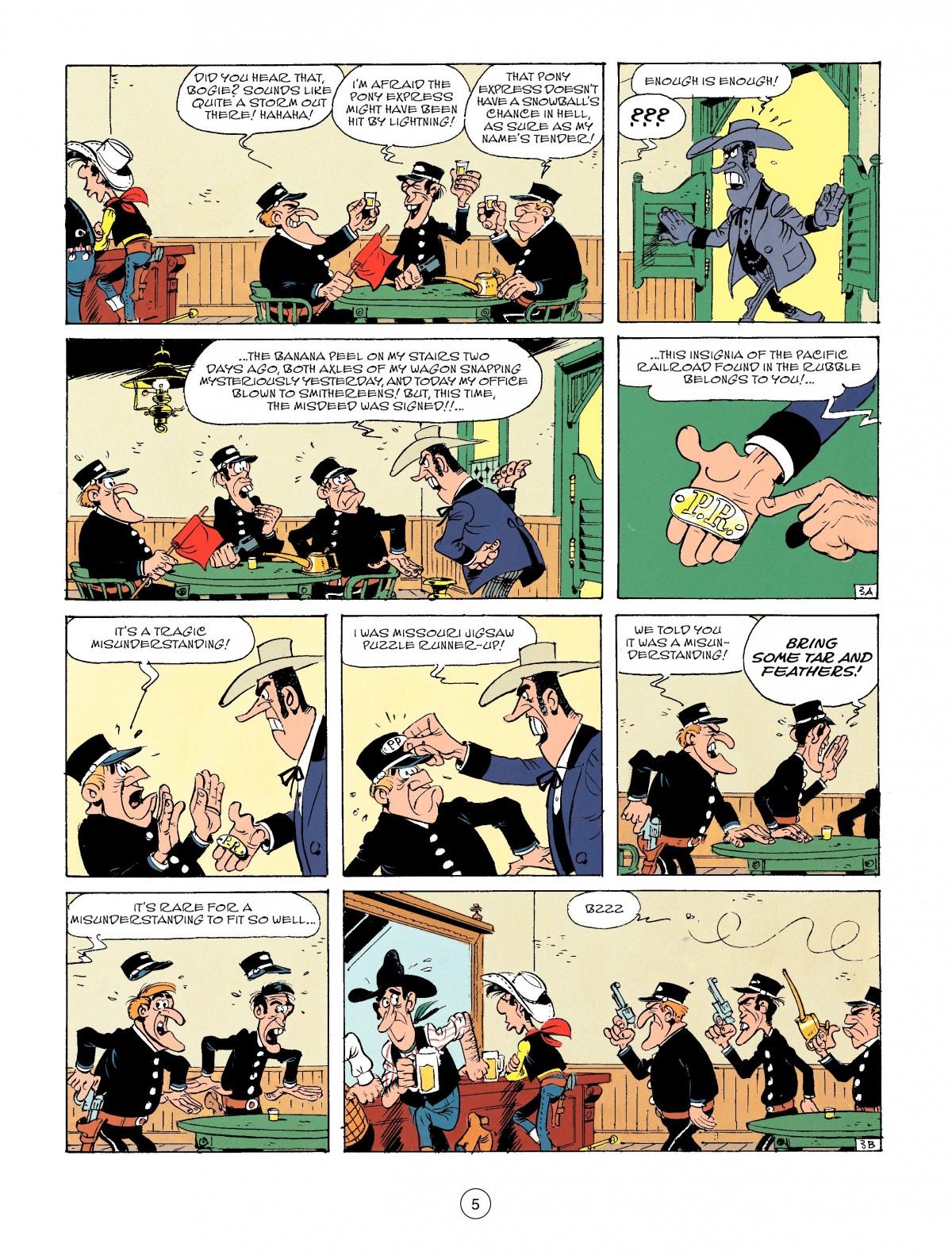 Read online A Lucky Luke Adventure comic -  Issue #46 - 5