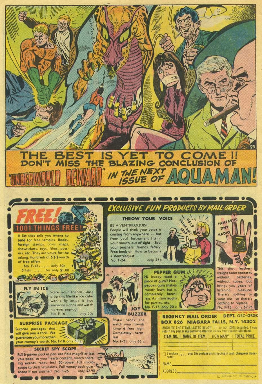 Aquaman (1962) Issue #44 #44 - English 32