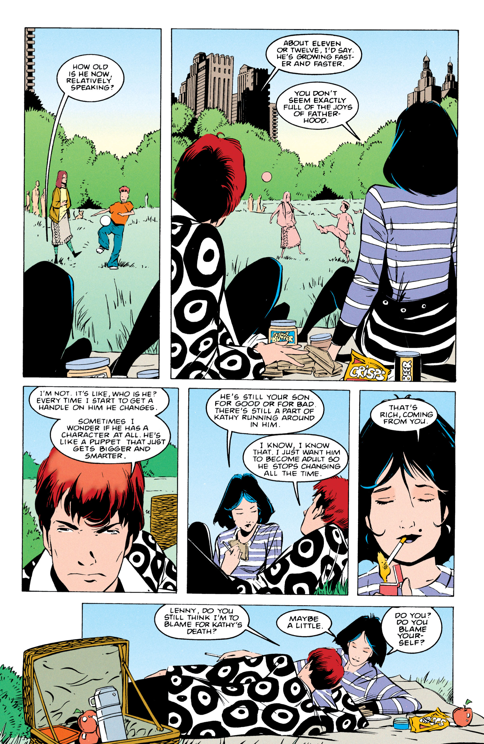 Read online Shade, the Changing Man comic -  Issue #55 - 16