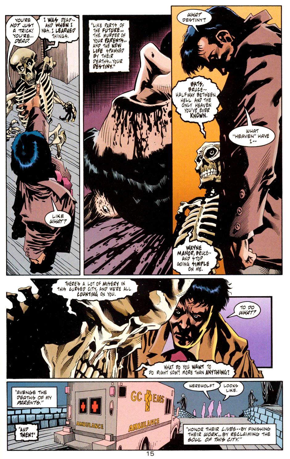 Read online Batman: Haunted Gotham comic -  Issue #1 - 17