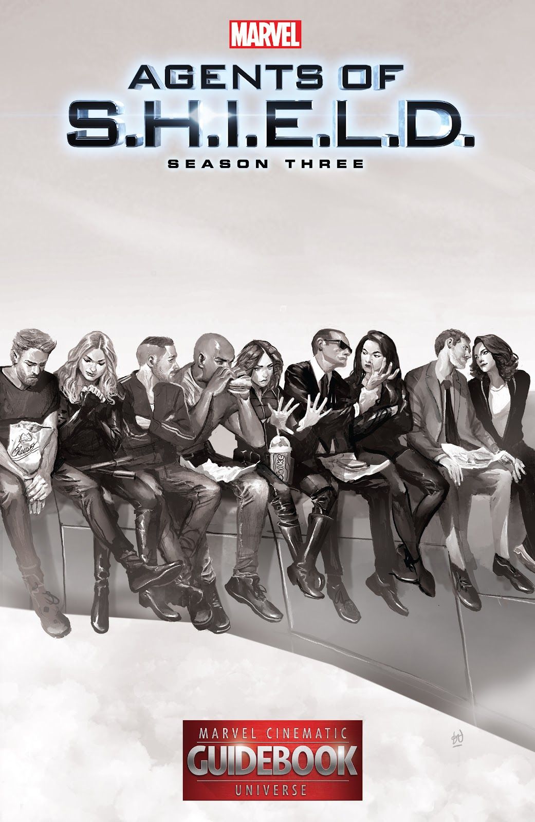 Guidebook to the Marvel Cinematic Universe - Marvel's Agents of S.H.I.E.L.D. Season Three issue Full - Page 1