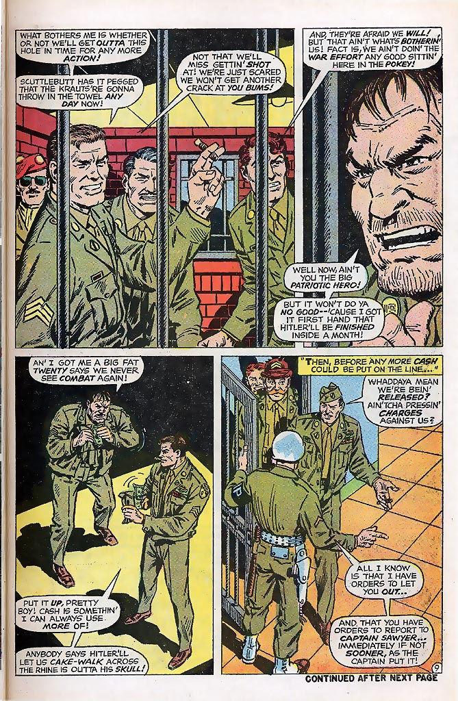 Read online Sgt. Fury comic -  Issue # _Special 4 - 11