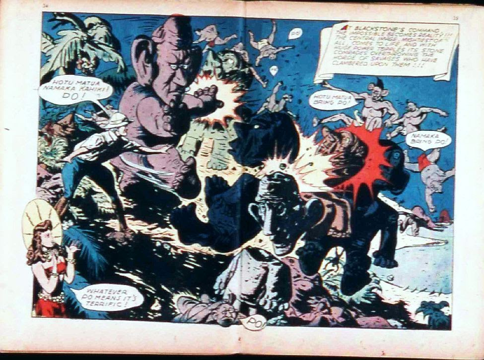 Read online Super-Magician Comics comic -  Issue #17 - 34