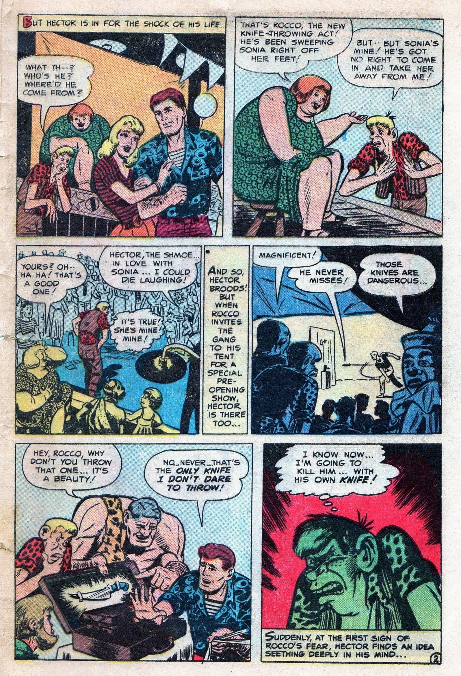 Read online Adventures into Weird Worlds comic -  Issue #11 - 29