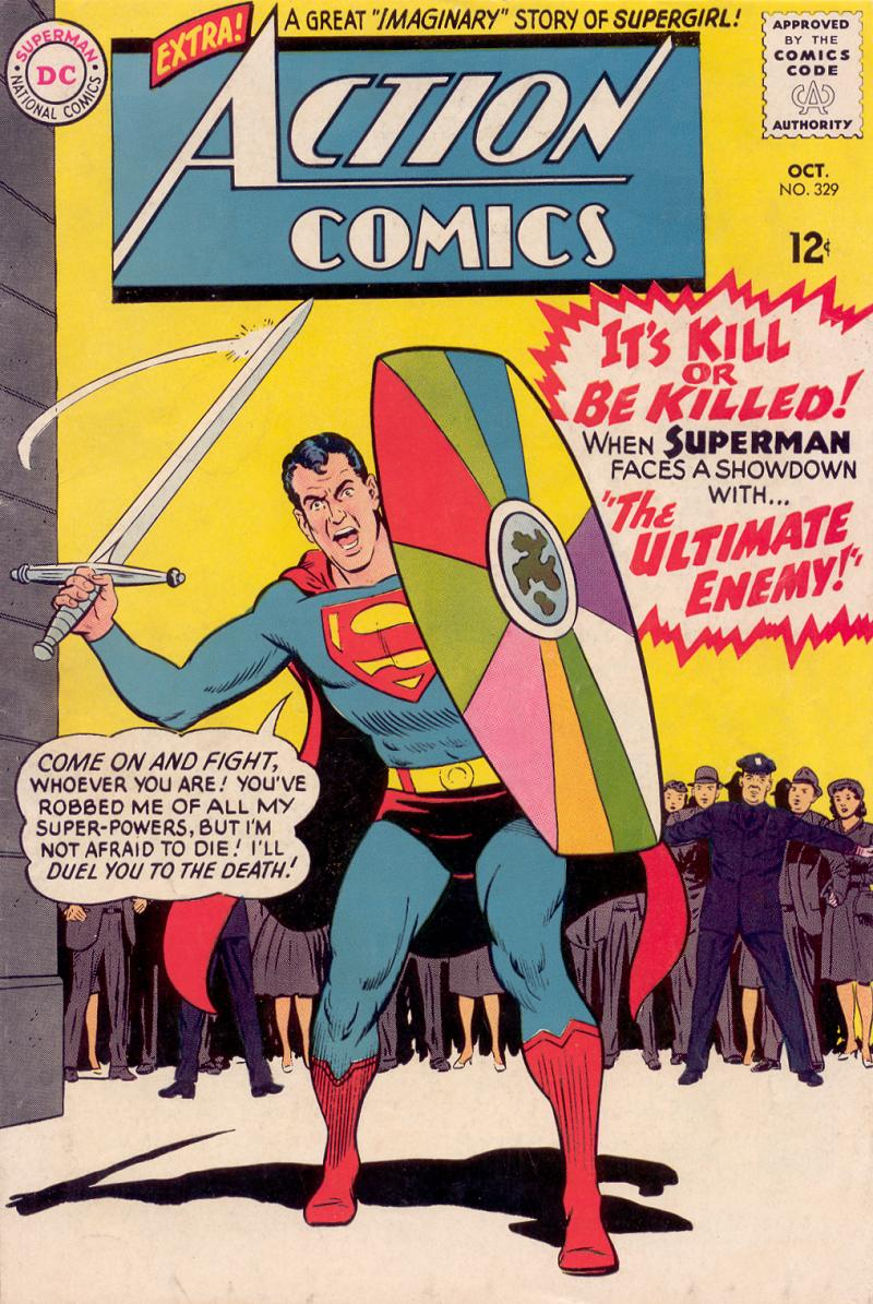 Read online Action Comics (1938) comic -  Issue #329 - 1