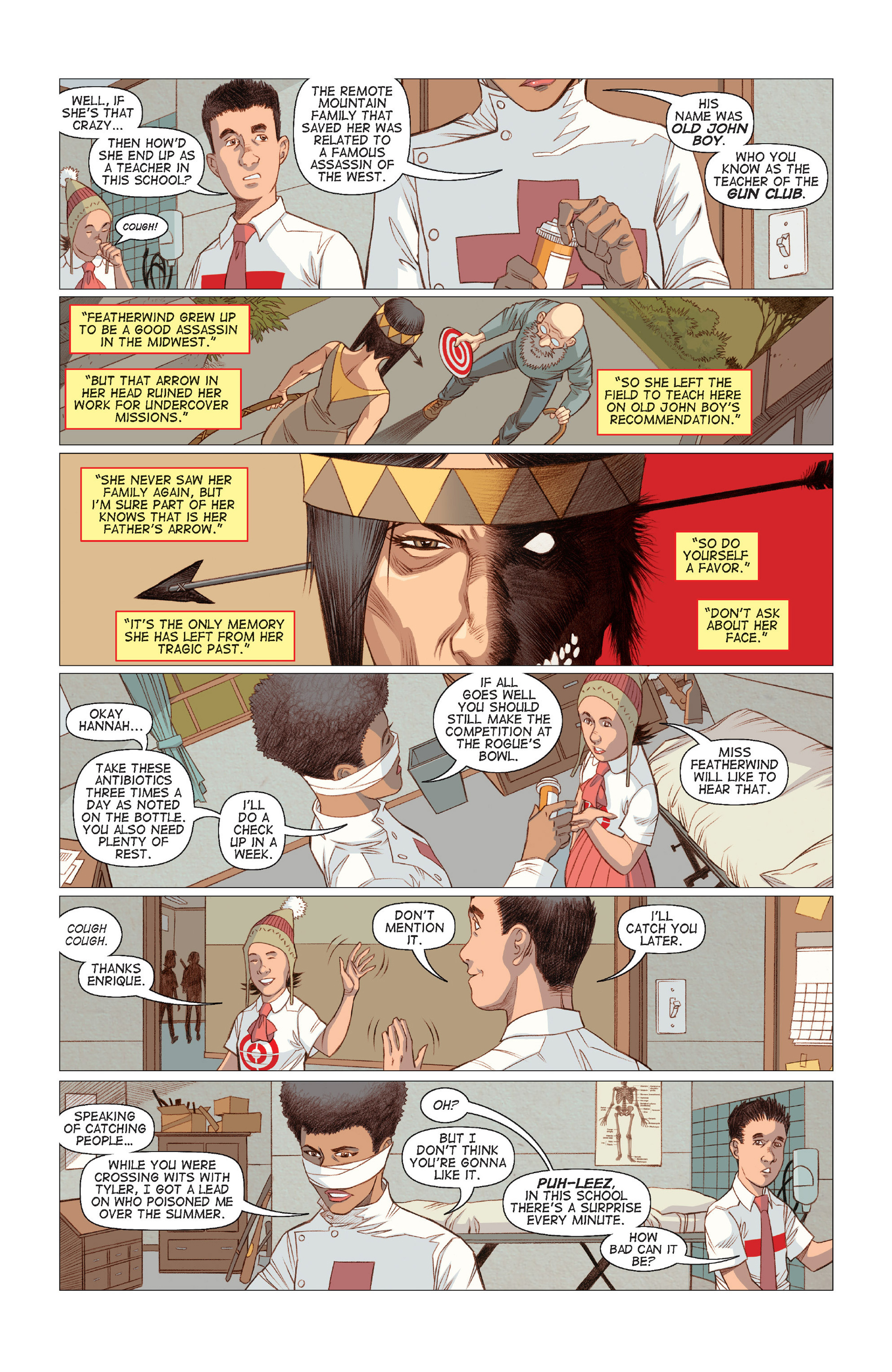 Read online Five Weapons comic -  Issue #8 - 10