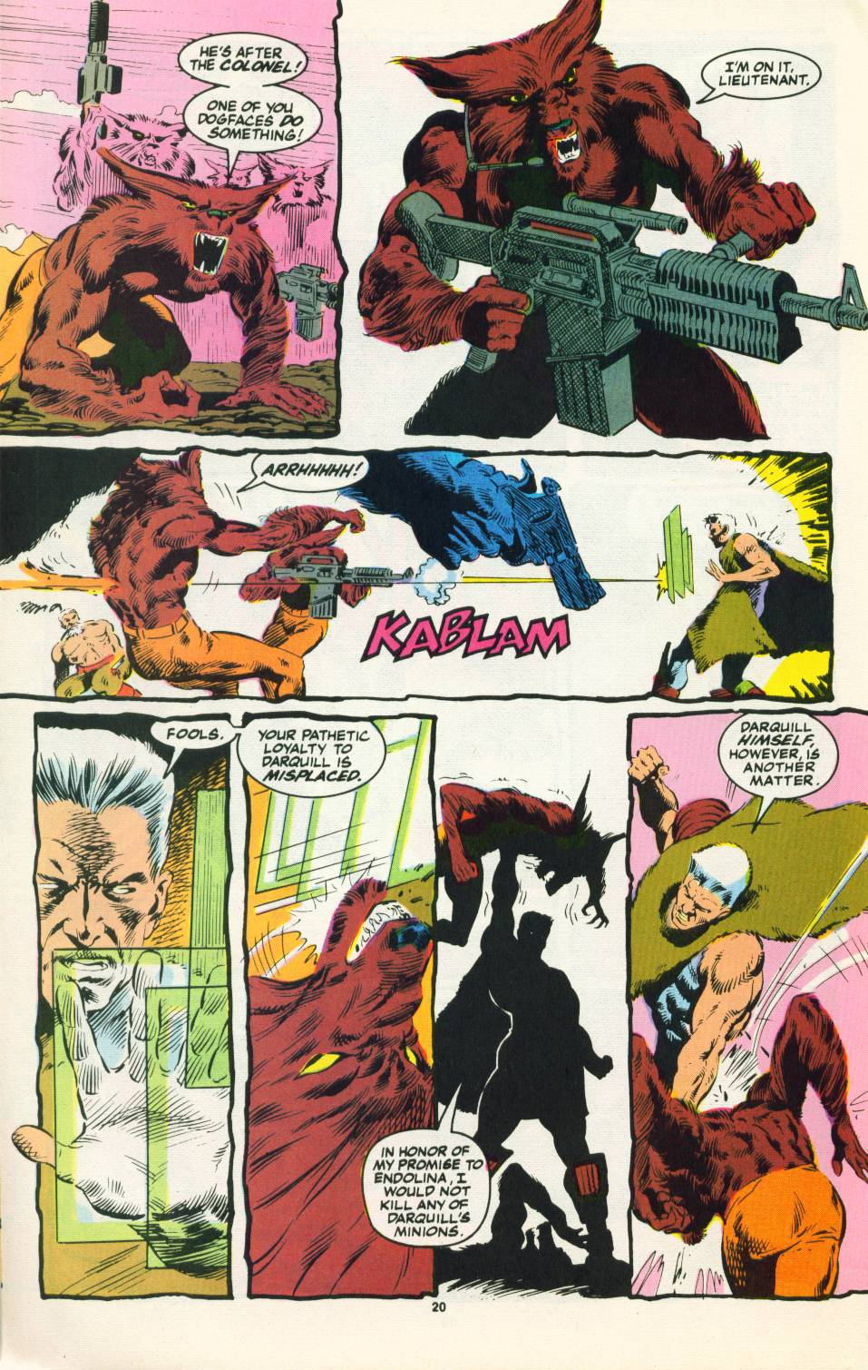 Read online Justice (1986) comic -  Issue #22 - 21