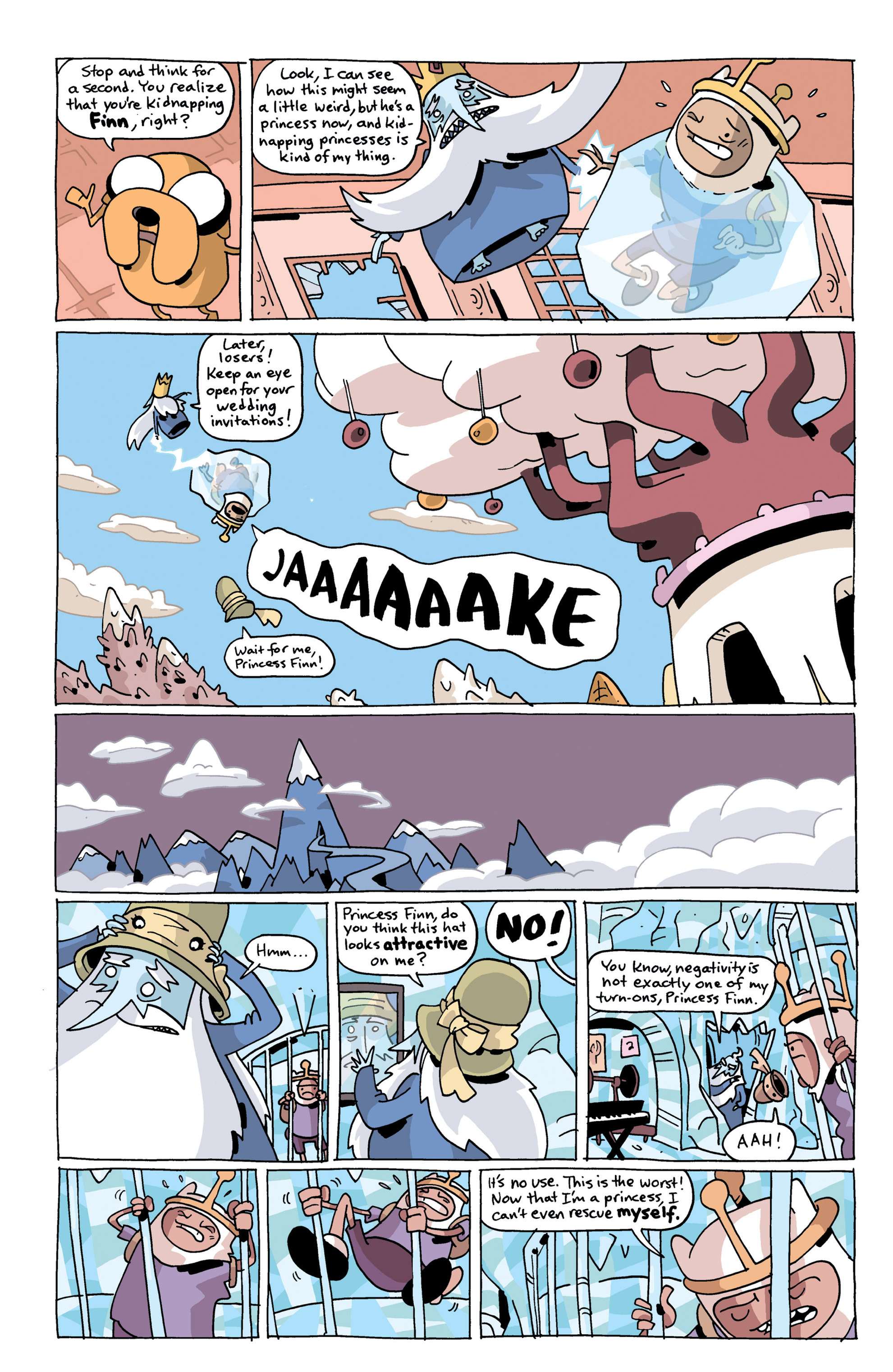 Read online Adventure Time comic -  Issue #14 - 22