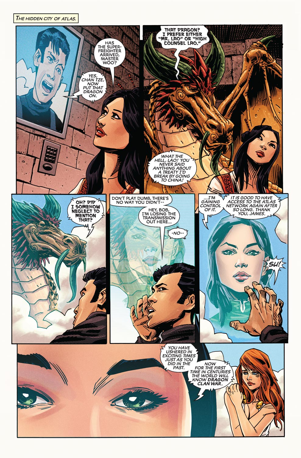 Read online Agents Of Atlas (2009) comic -  Issue #9 - 23