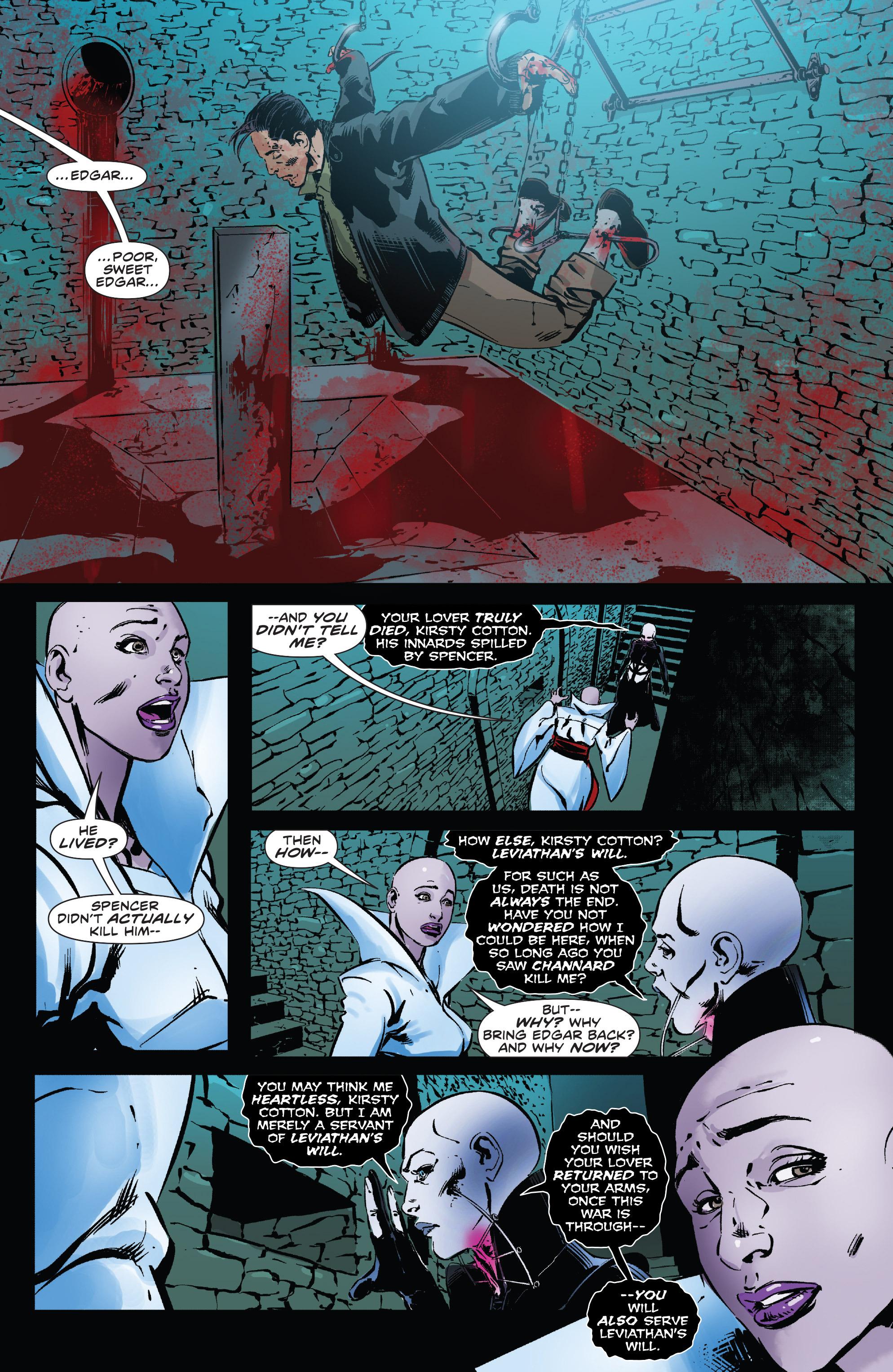 Read online Clive Barker's Hellraiser: The Dark Watch comic -  Issue # TPB 3 - 88