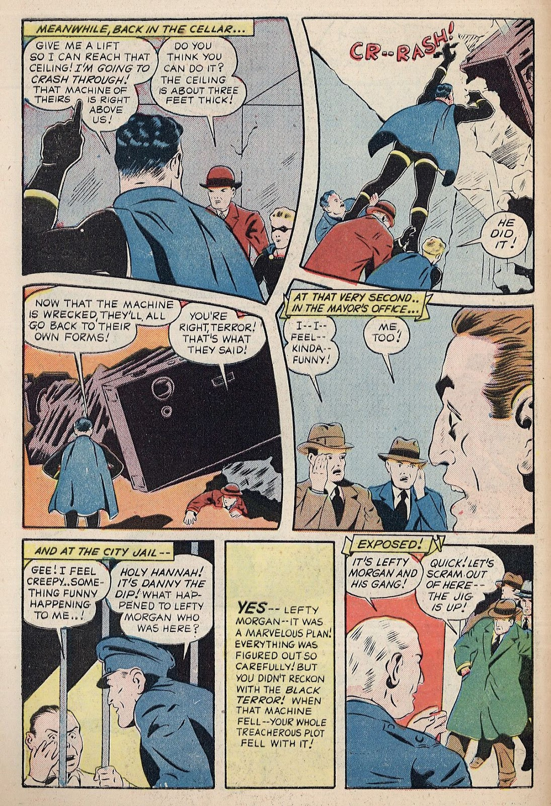 Exciting Comics (1940) issue 38 - Page 12