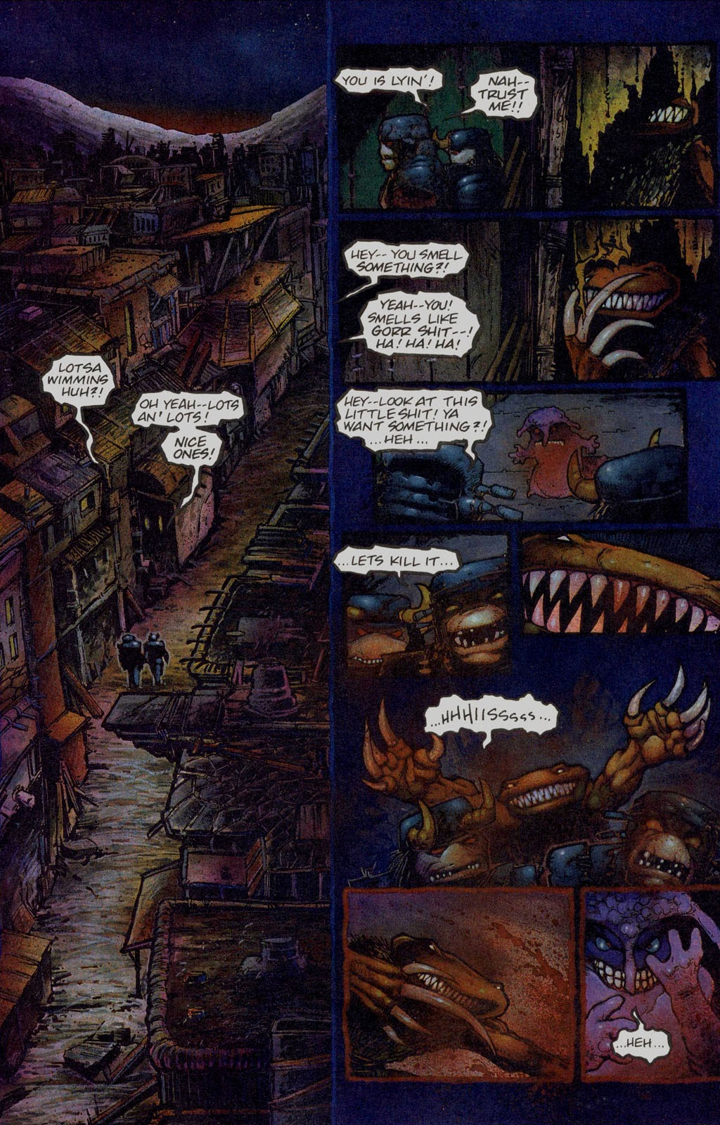 Read online Melting Pot comic -  Issue #1 - 15