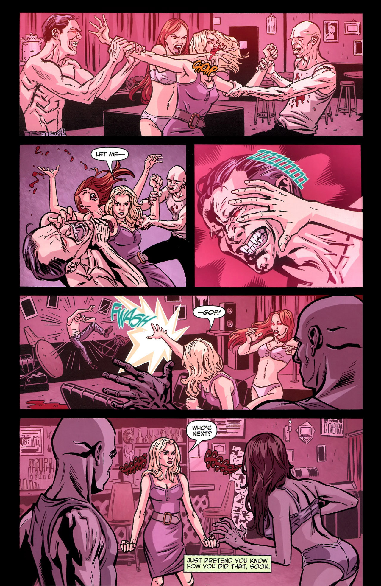 Read online True Blood: Tainted Love comic -  Issue #3 - 13