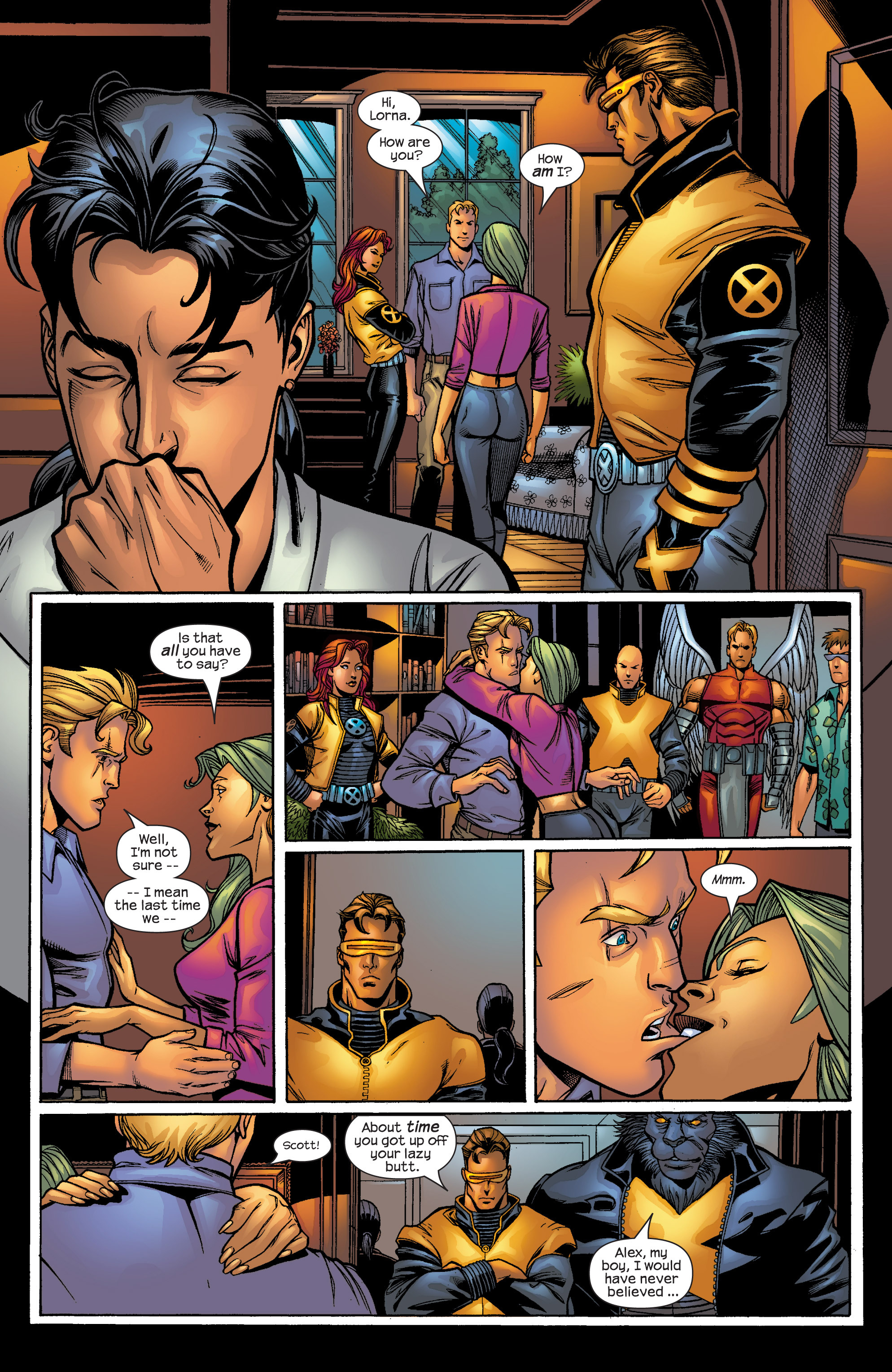 Read online Uncanny X-Men (1963) comic -  Issue #421 - 7