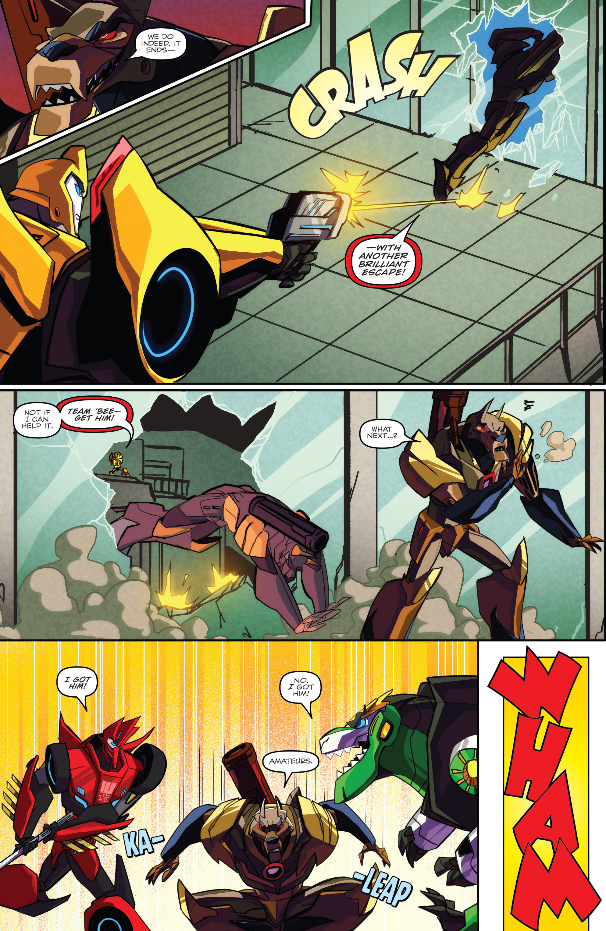 Read online Transformers: Robots In Disguise (2015) comic -  Issue #2 - 20