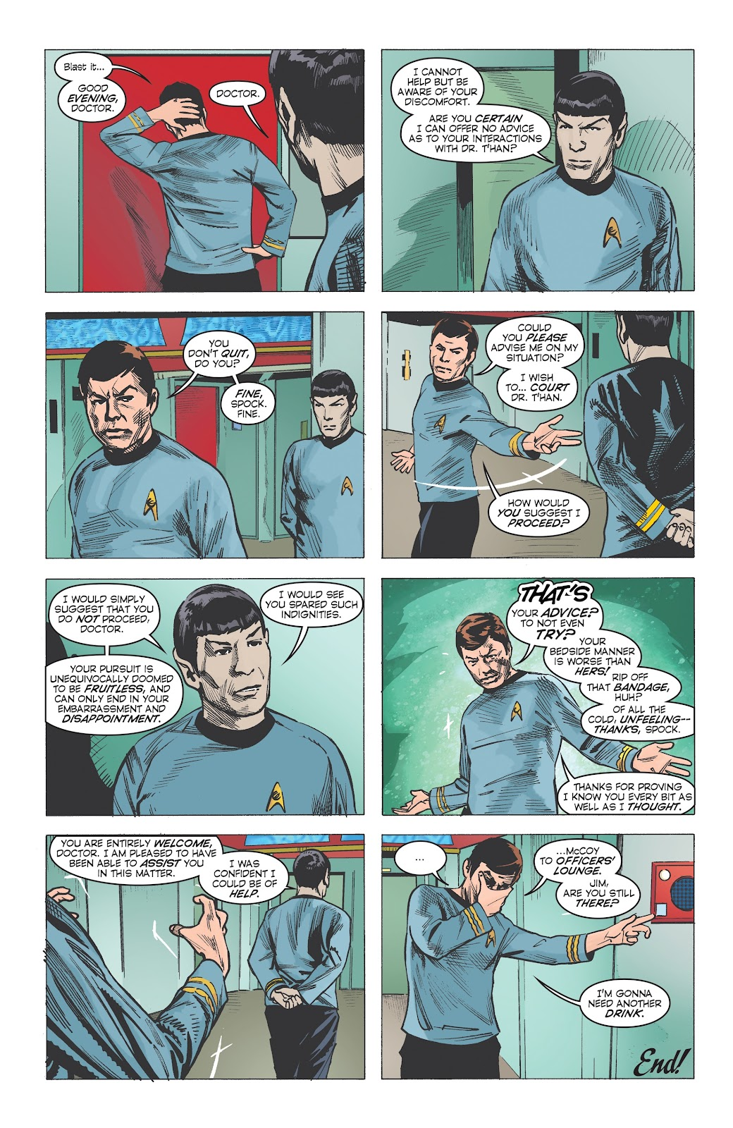 Read online Star Trek: Waypoint Special 2019 comic -  Issue # Full - 12