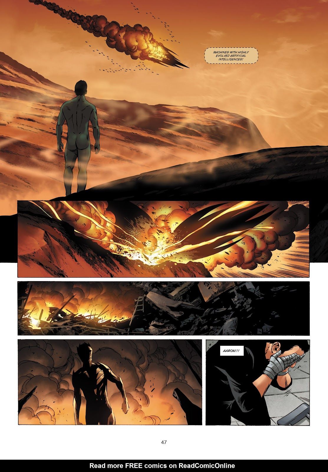 Read online Olympus Mons Vol. 1: Anomaly One comic -  Issue #4 - 44