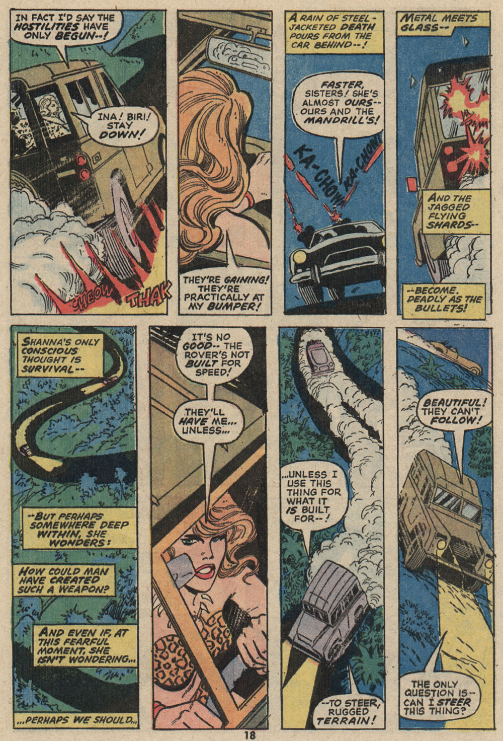 Read online Shanna, the She-Devil (1972) comic -  Issue #4 - 14