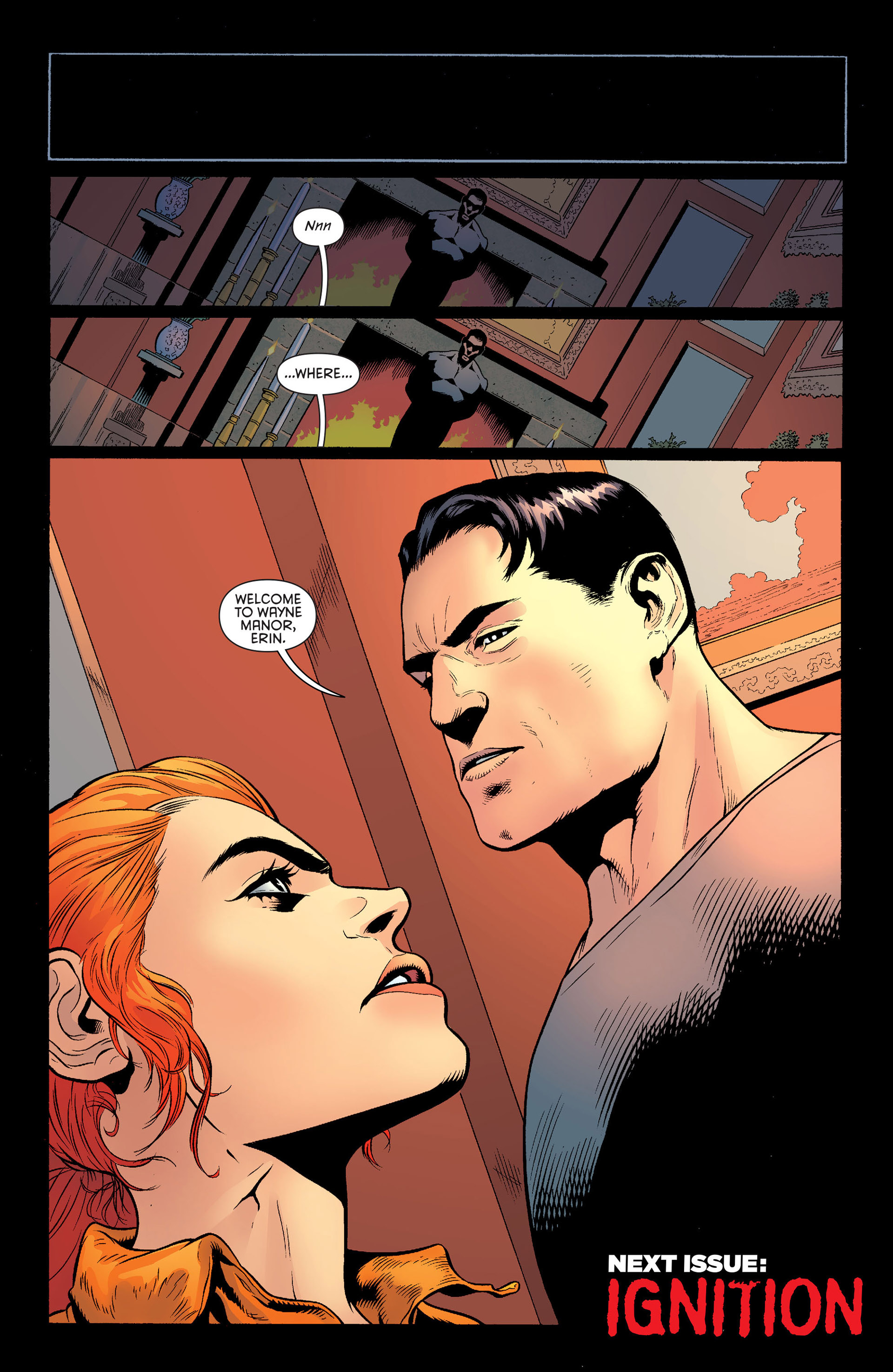 Read online Batman and Robin (2011) comic -  Issue #25 - Batman and Two-Face - 21