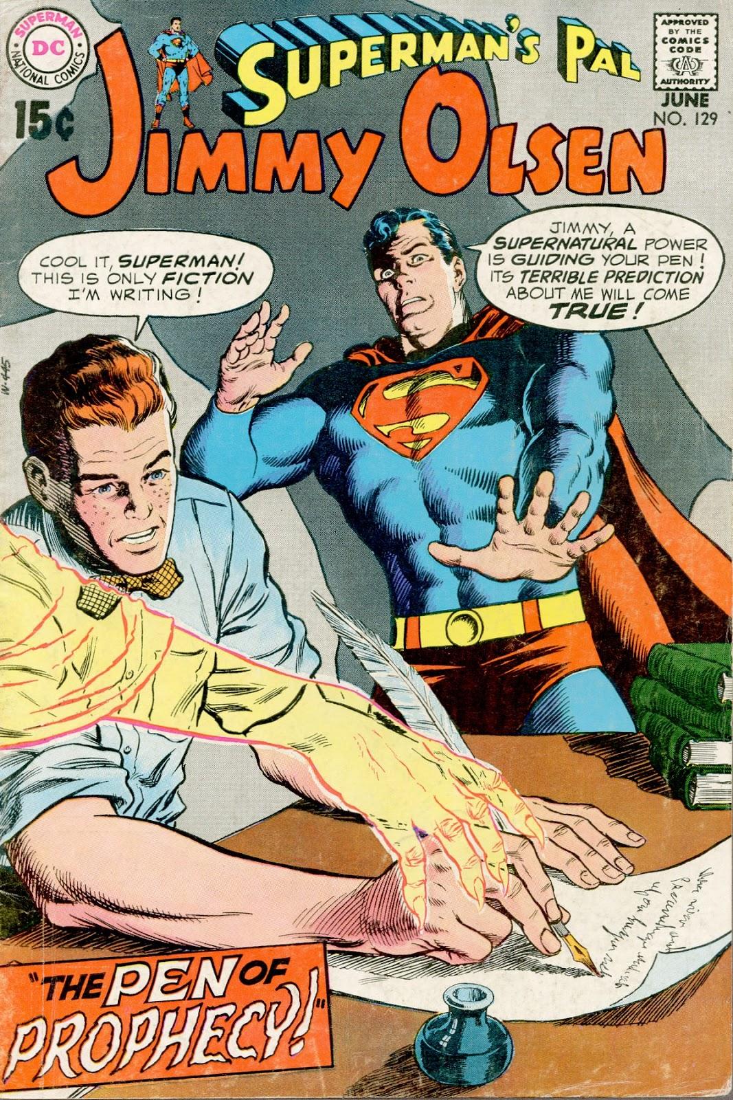 Supermans Pal Jimmy Olsen (1954) 129 Page 1