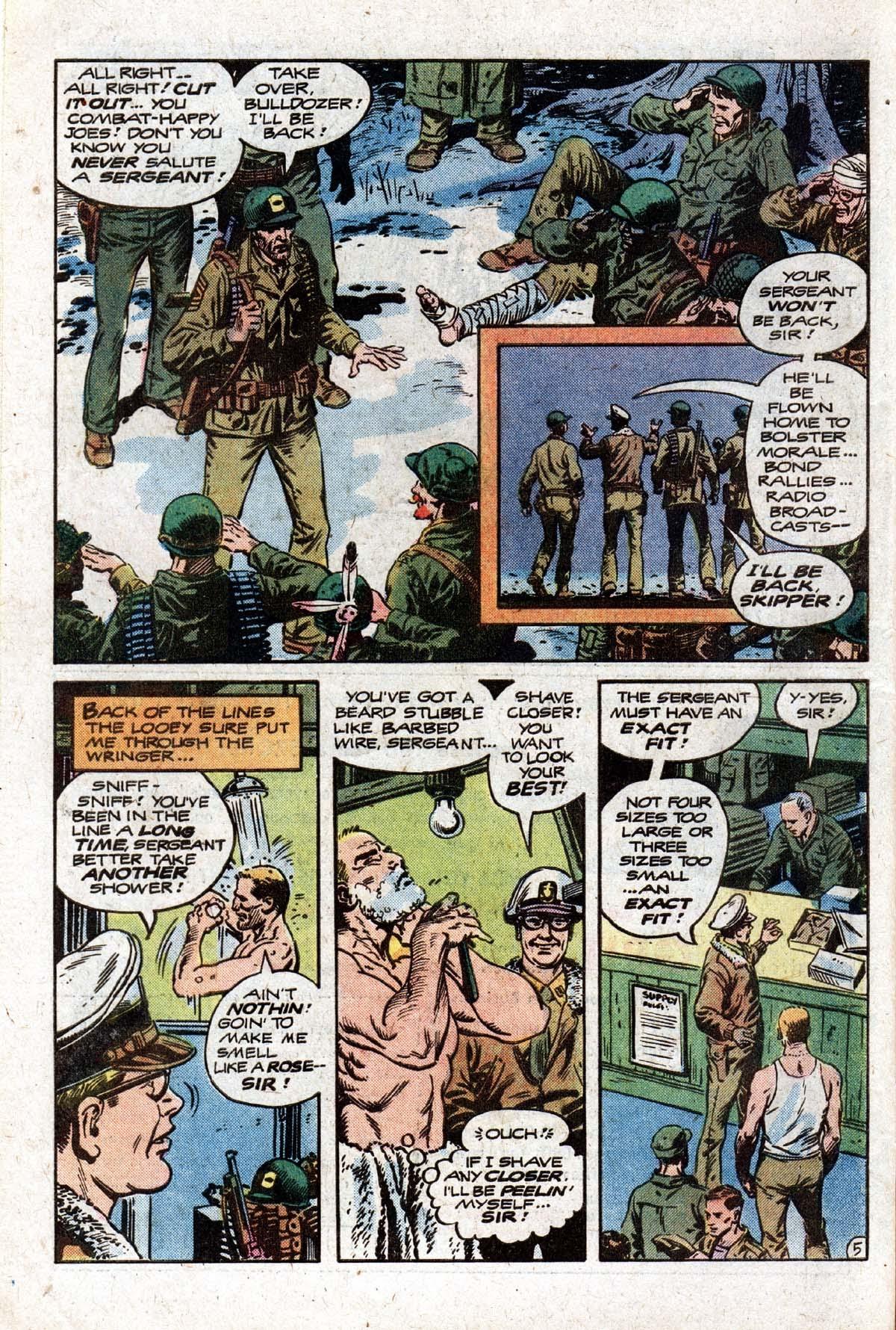 Read online Sgt. Rock comic -  Issue #320 - 8
