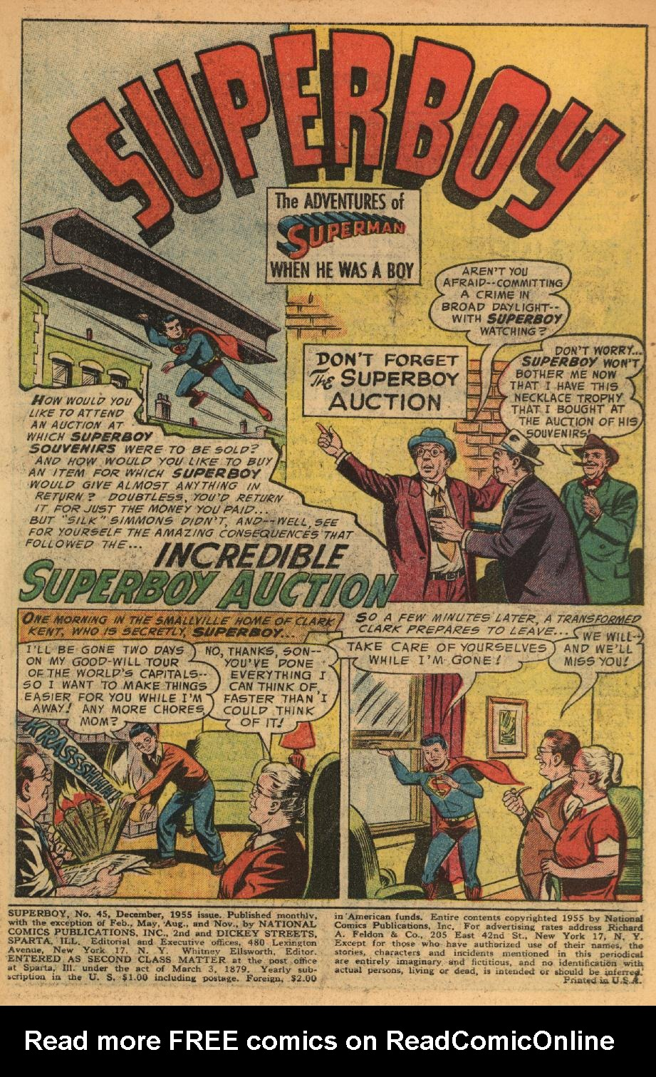 Superboy (1949) issue 45 - Page 2