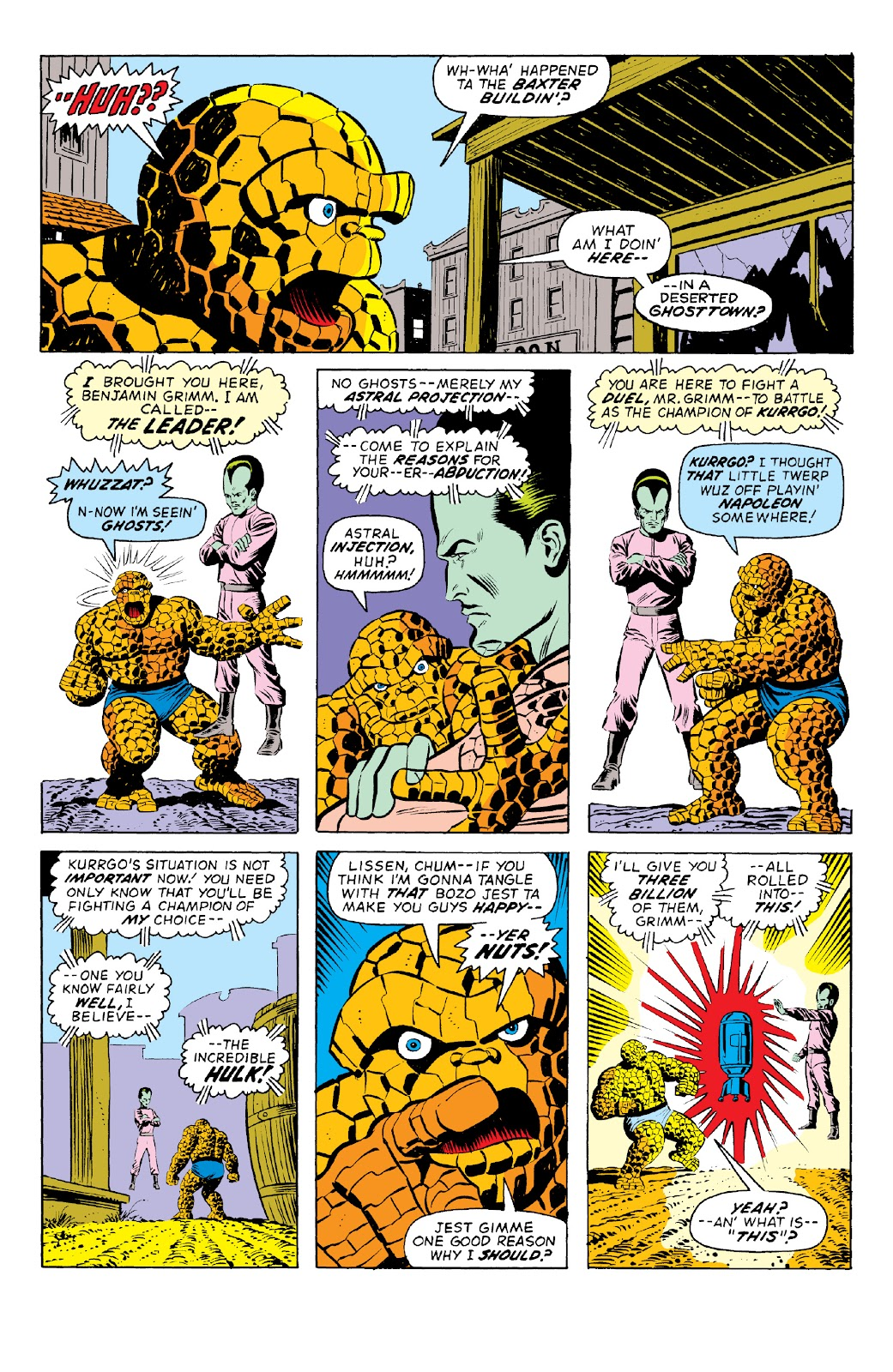 Read online Marvel Two-In-One Epic Collection: Cry Monster comic -  Issue # TPB (Part 1) - 13