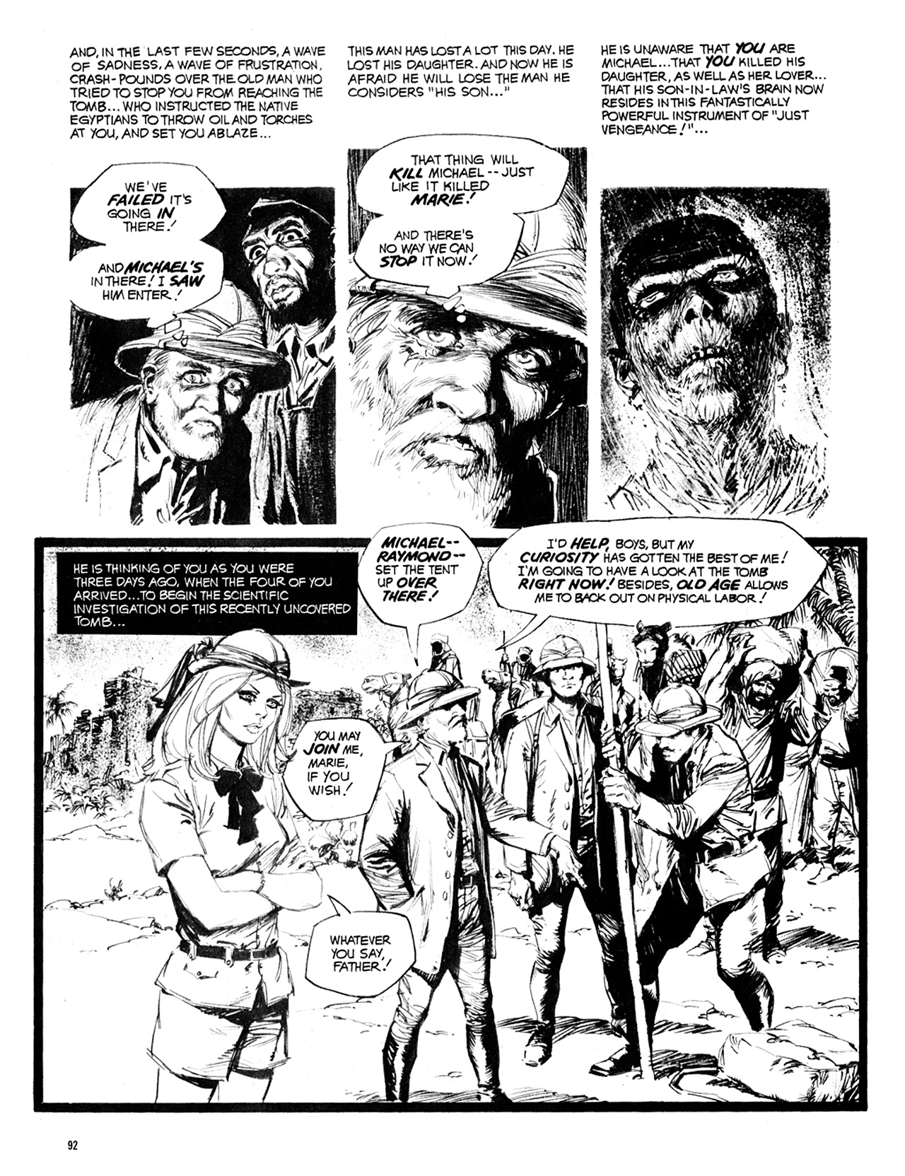 Read online Eerie Archives comic -  Issue # TPB 10 - 93