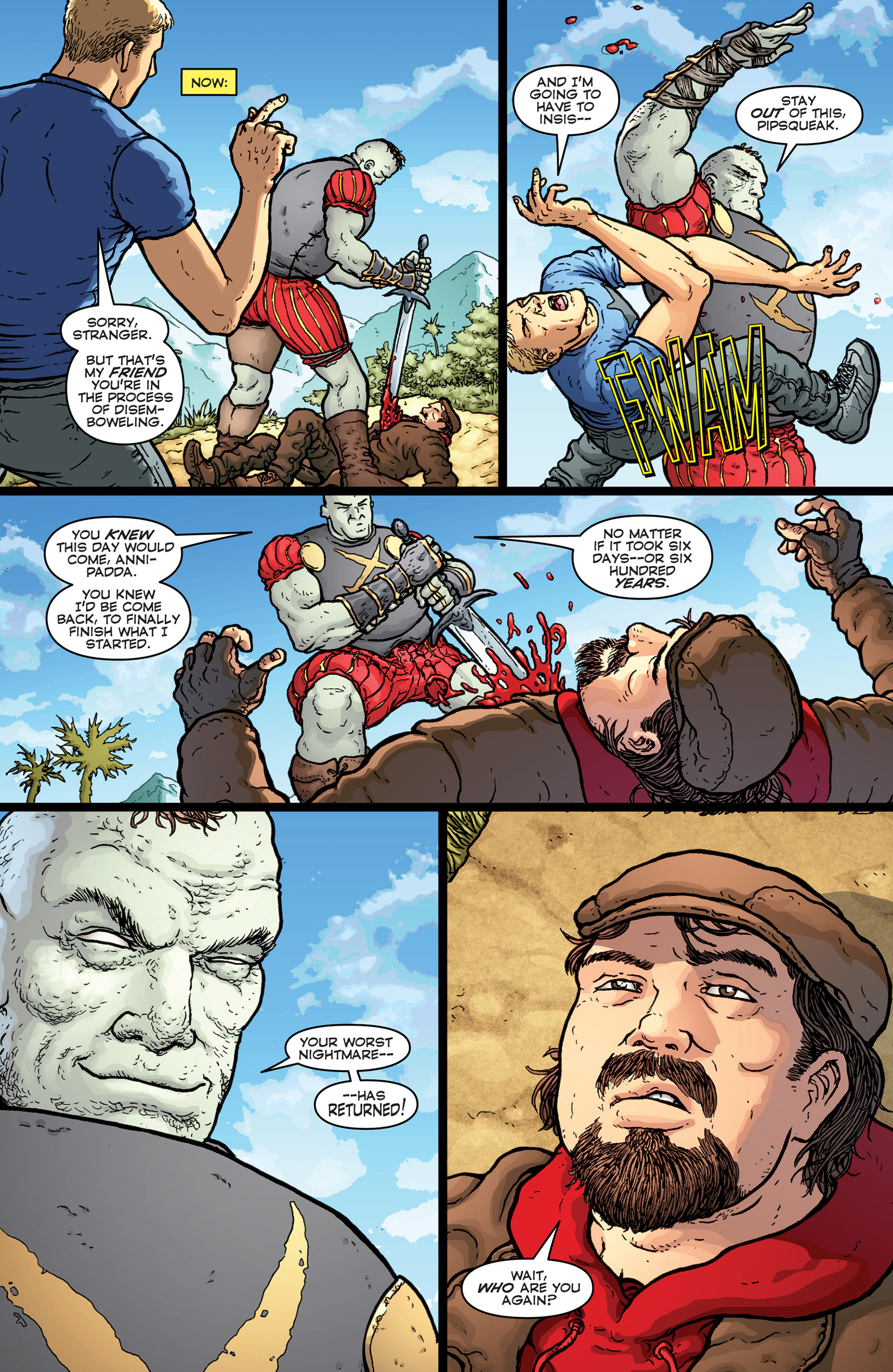 Read online Archer and Armstrong comic -  Issue #Archer and Armstrong _TPB 7 - 34