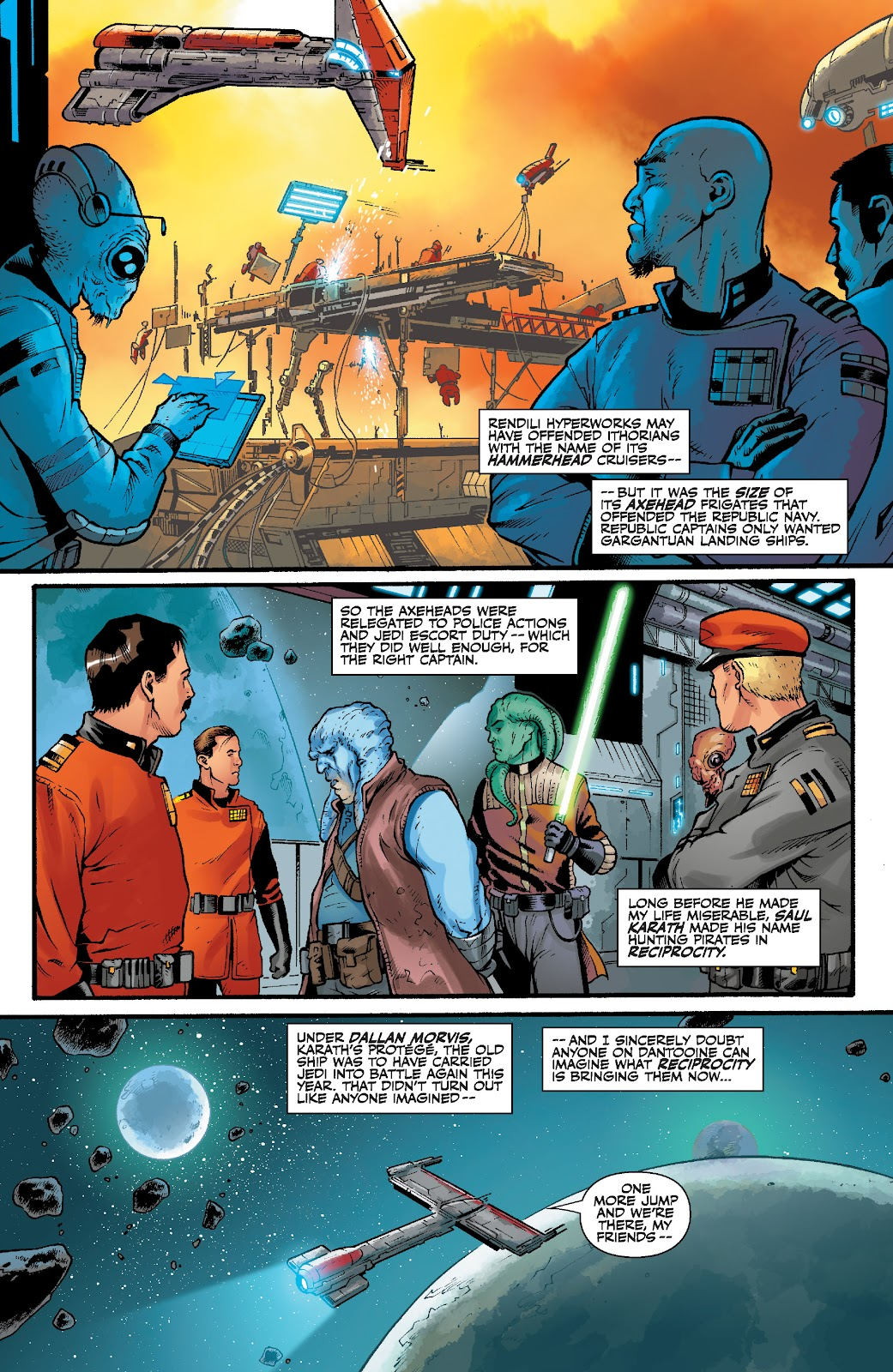 Read online Star Wars Legends: The Old Republic - Epic Collection comic -  Issue # TPB 3 (Part 4) - 73