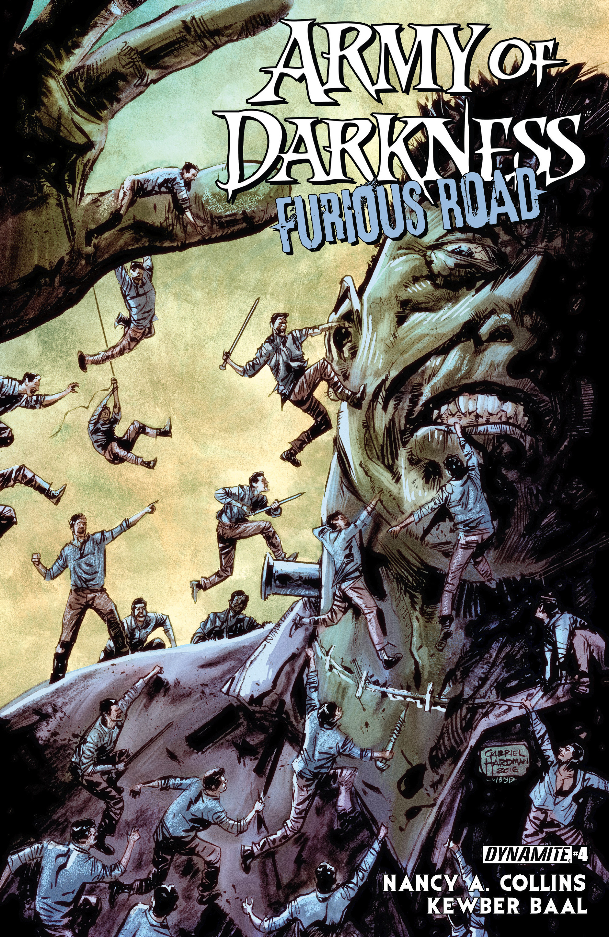 Read online Army of Darkness: Furious Road comic -  Issue #4 - 1